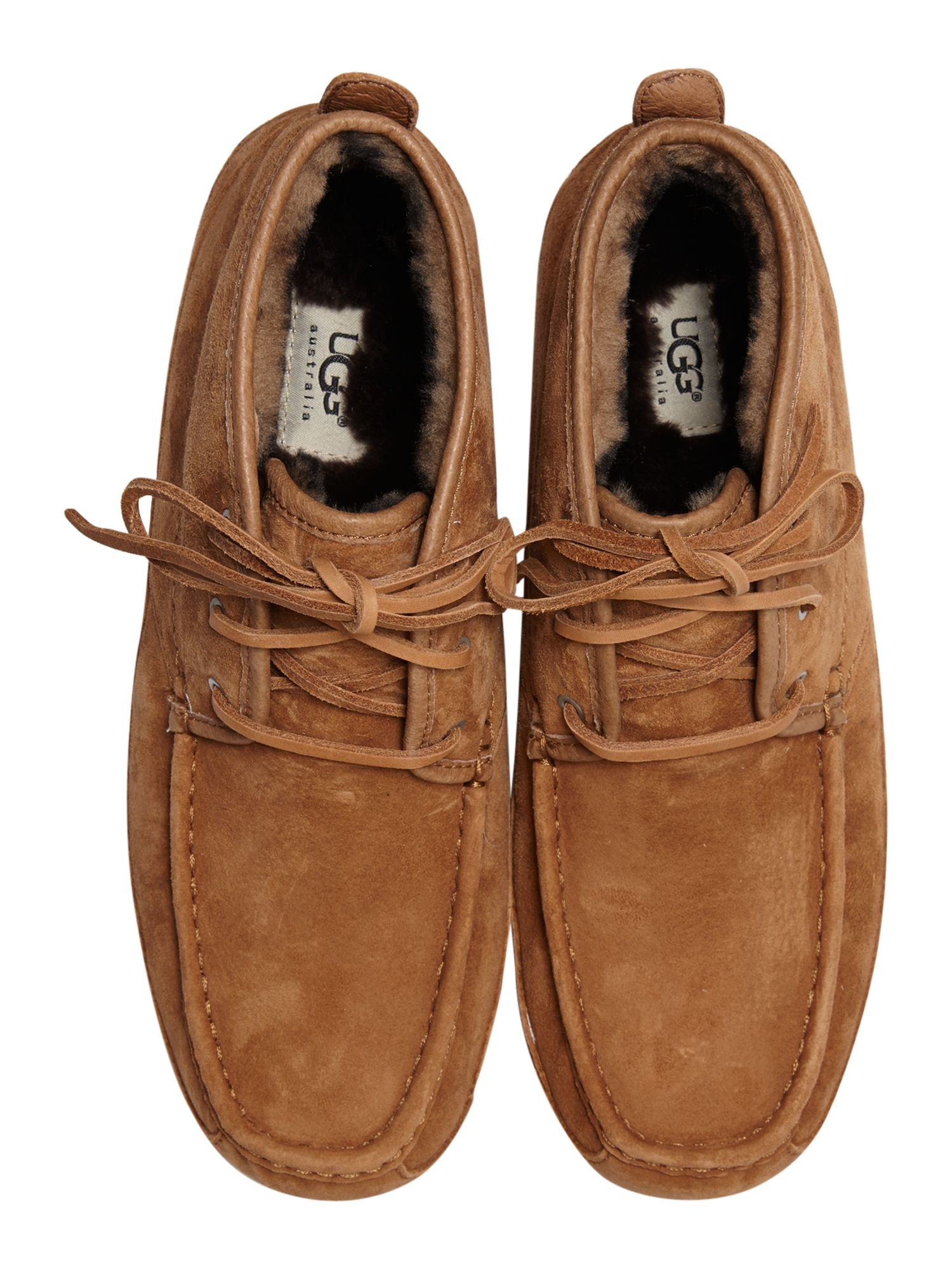 M Lyle moccasin bootie slipper