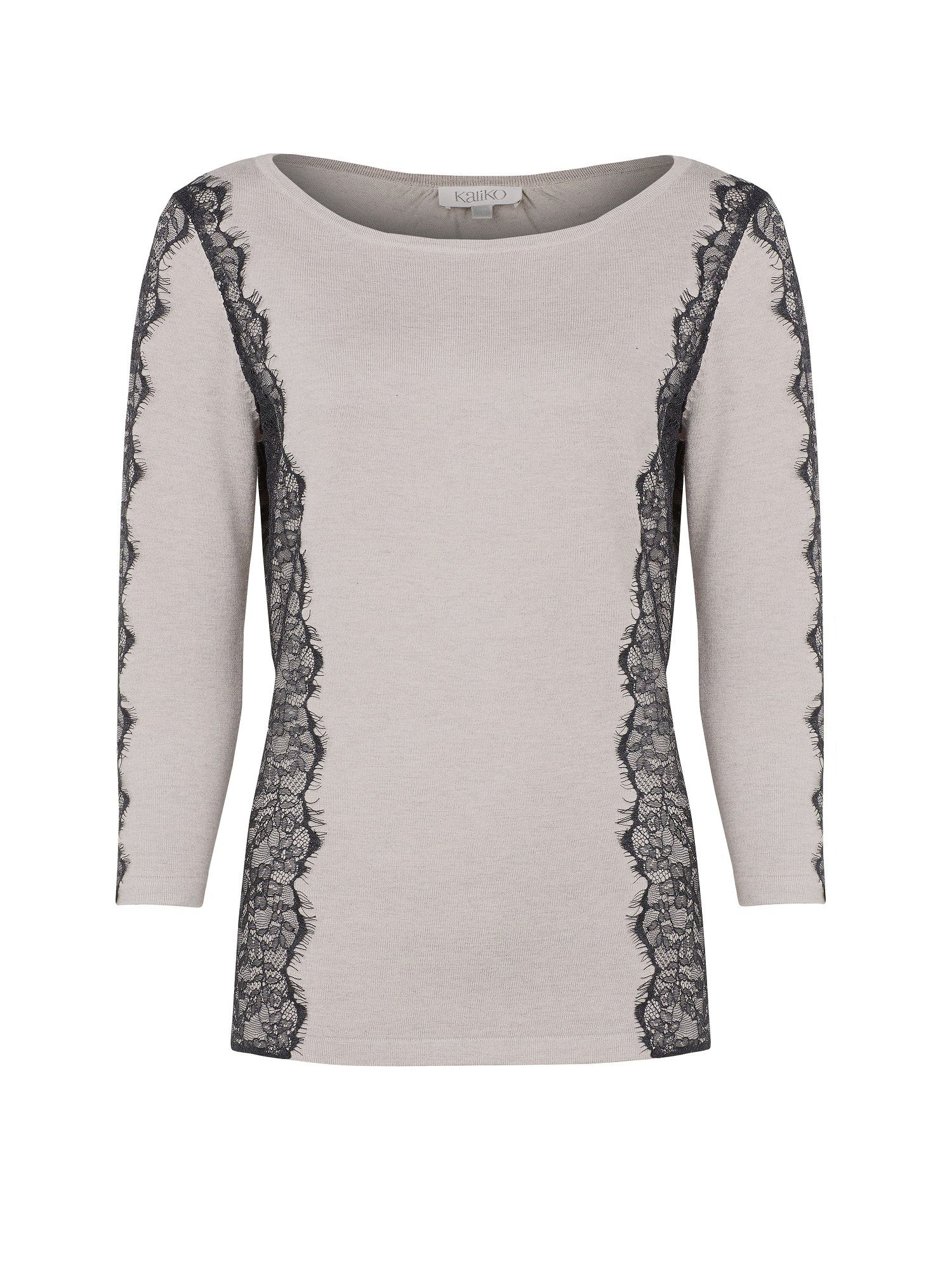 Lace Panel Jumper