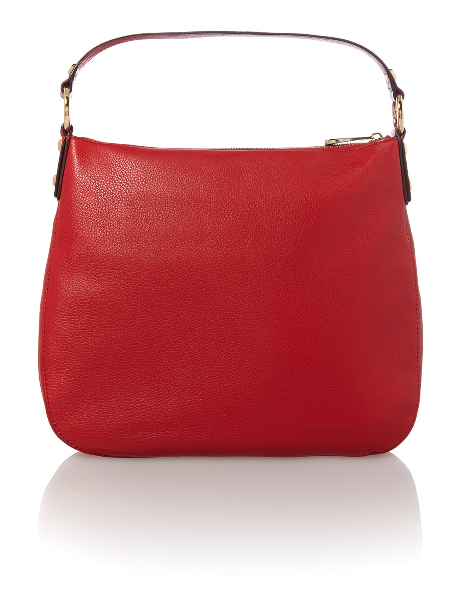 Fulton medium red hobo bag