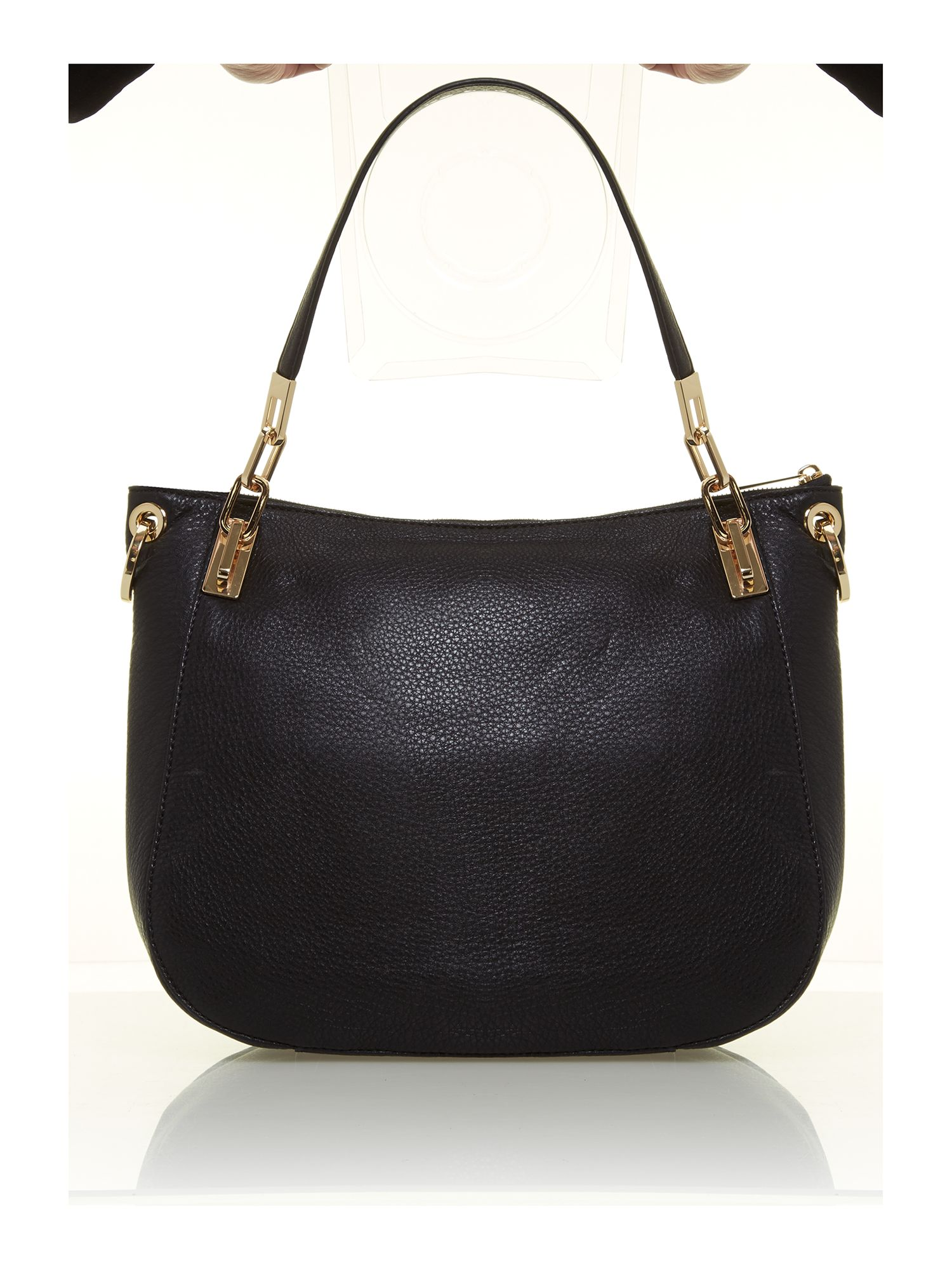Brooke large black tote bag