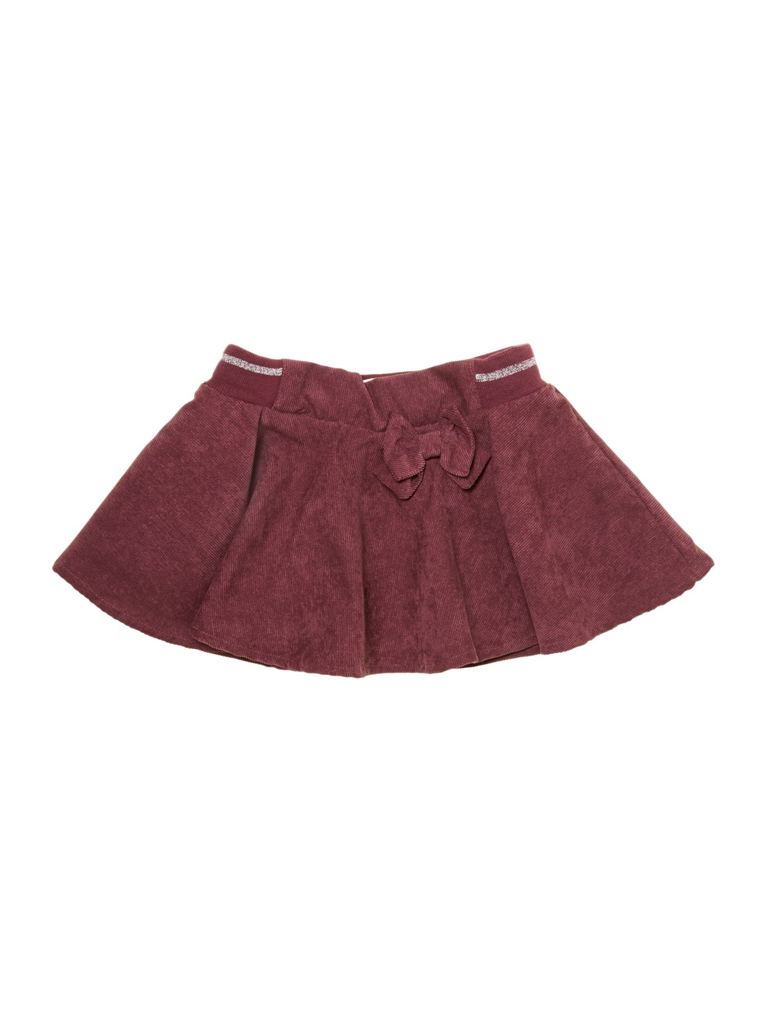 Girl`s cord mini skirt