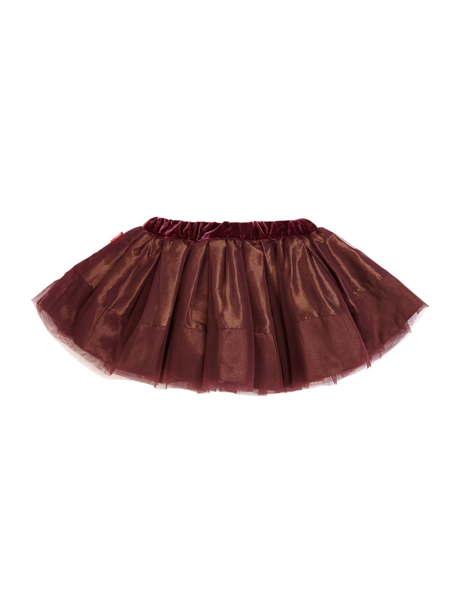 Girl`s layered full skirt