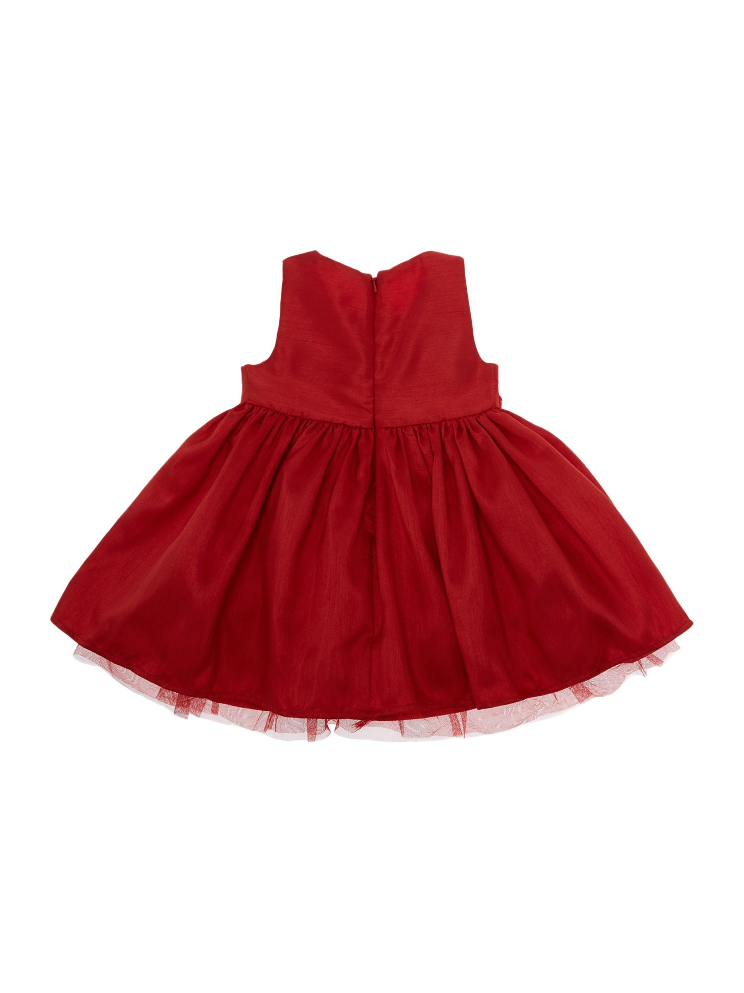 Girl`s flower band party dress