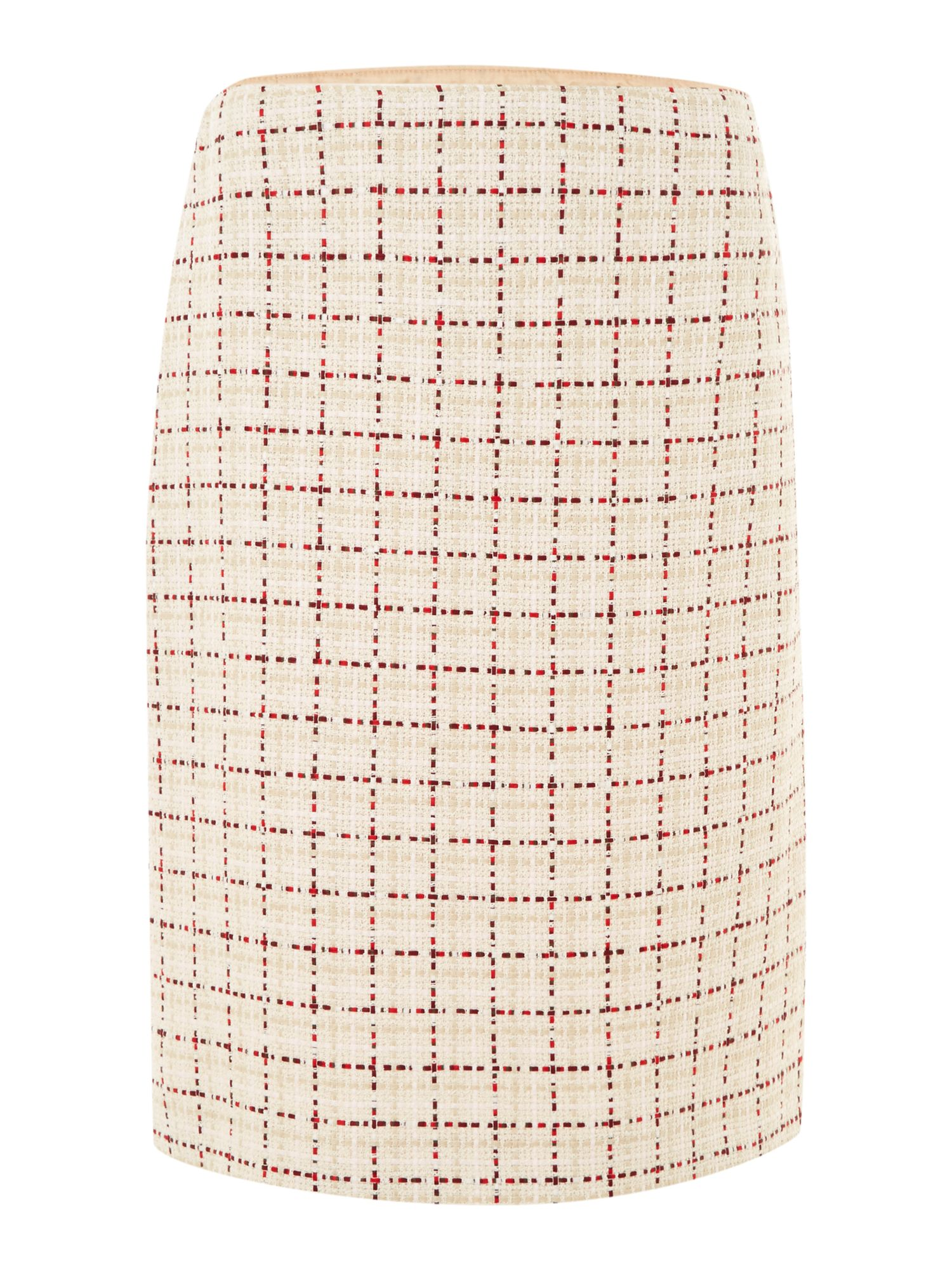 Nembo square print pencil skirt