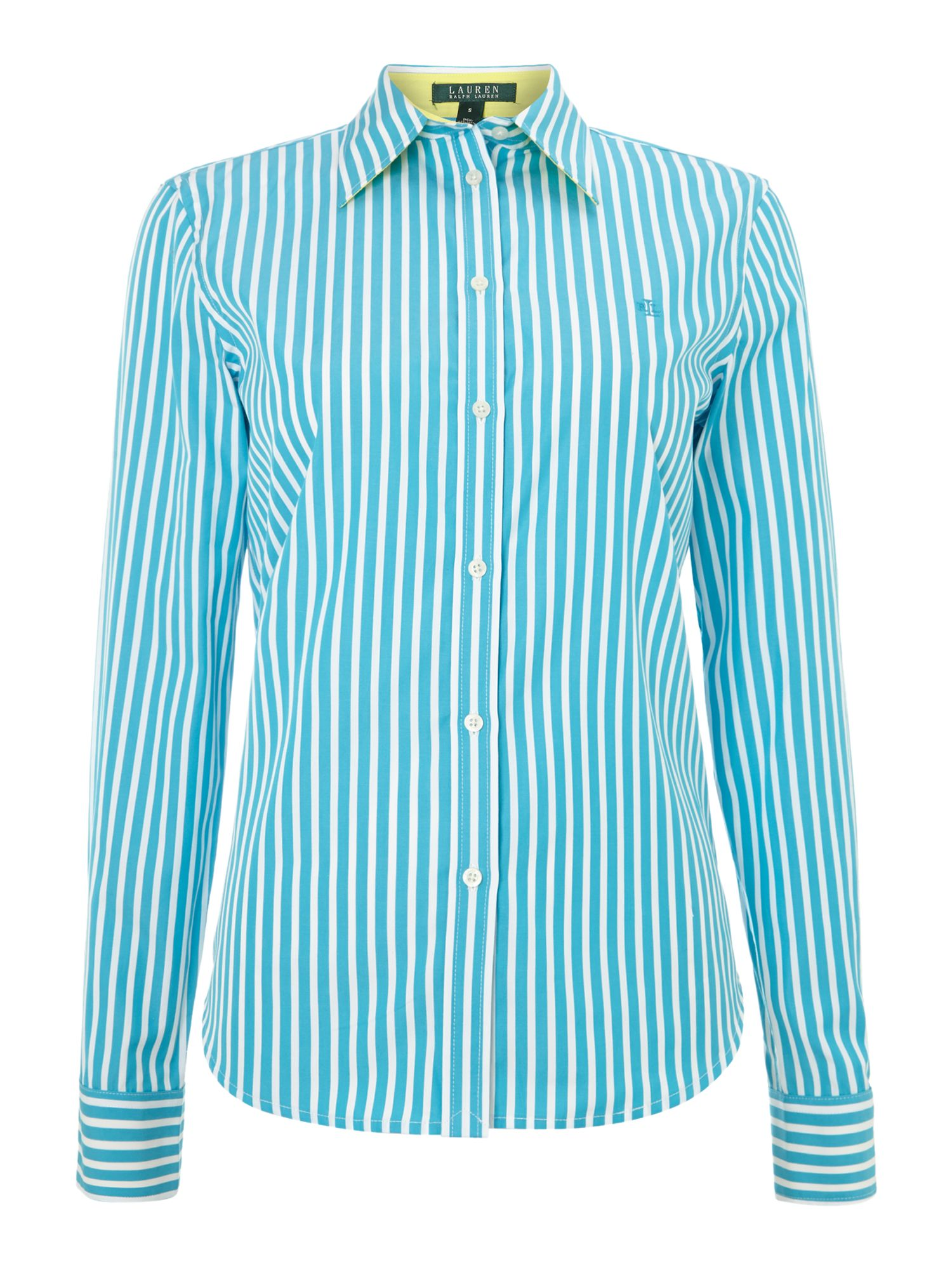 Long sleeve stripy shirt