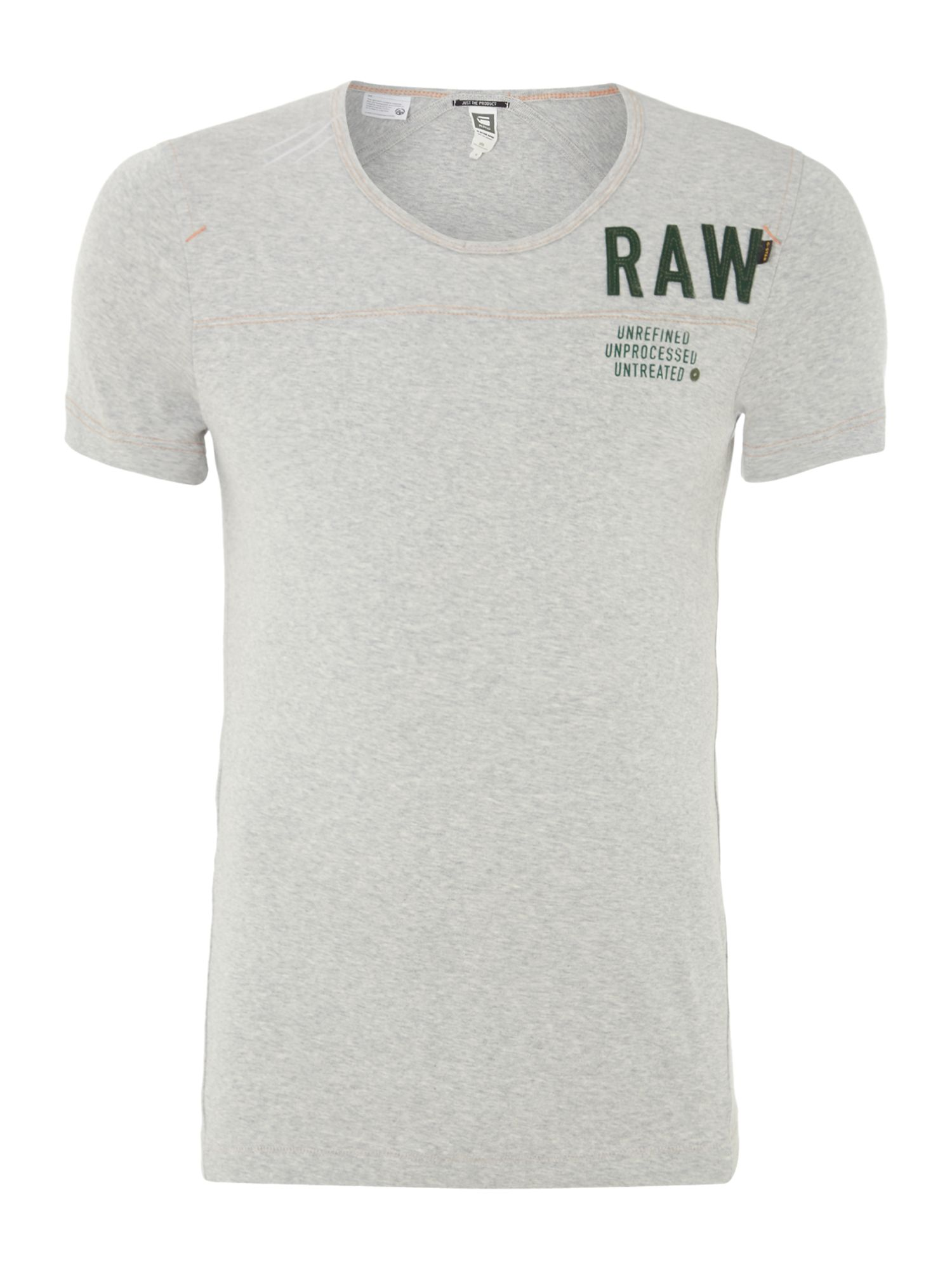Ace raw logo printed t-shirt