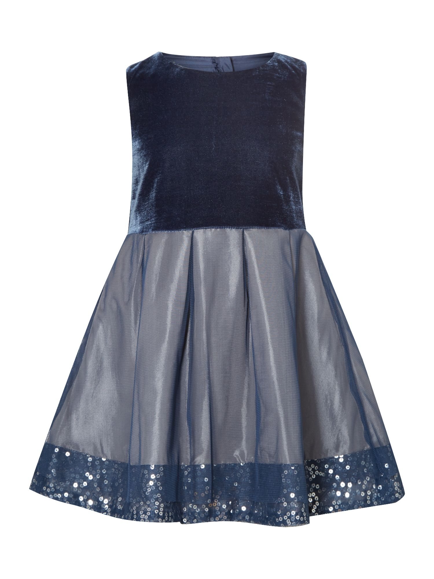 Girl`s mesh layer dress