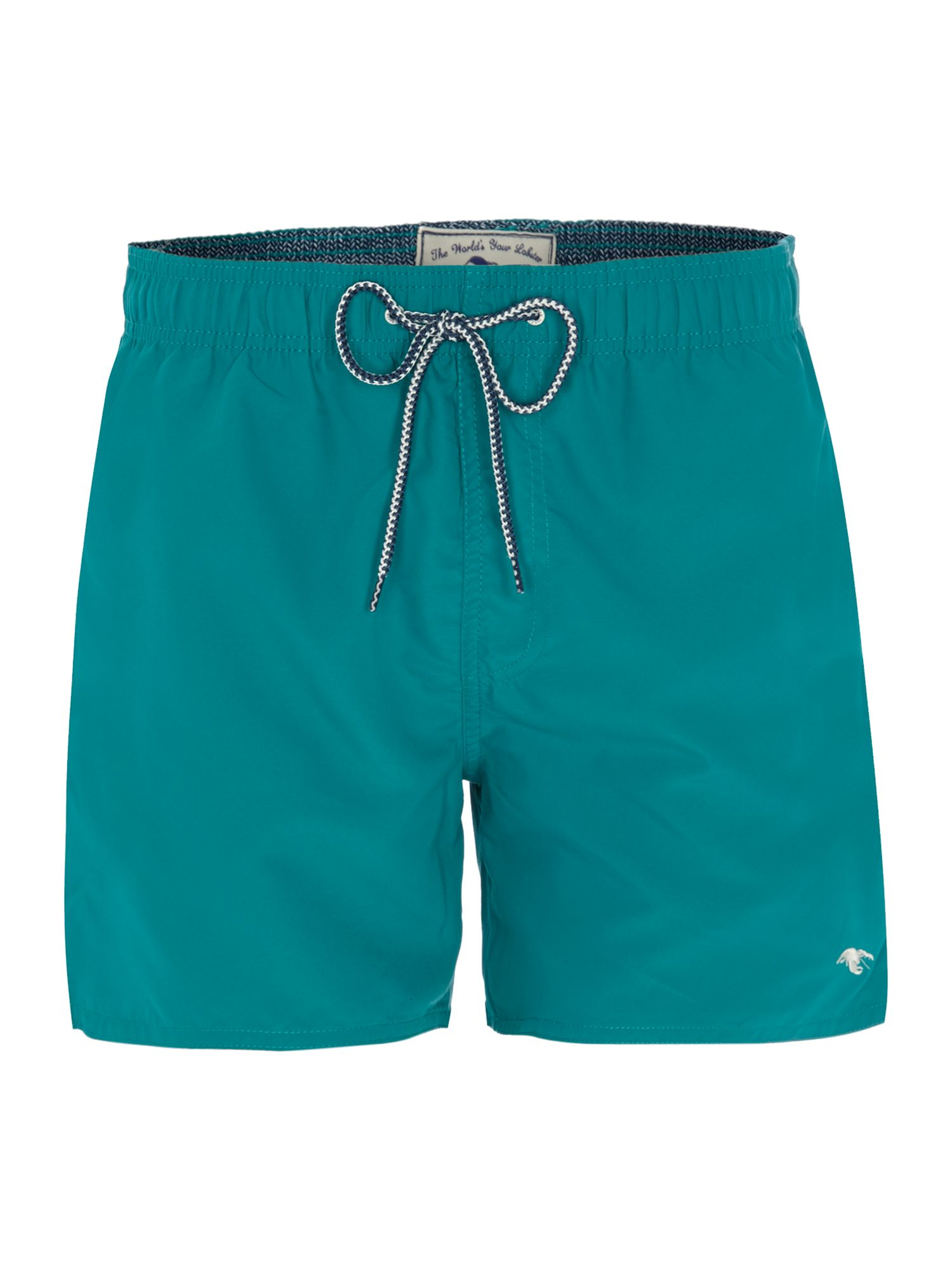 Solid swim short