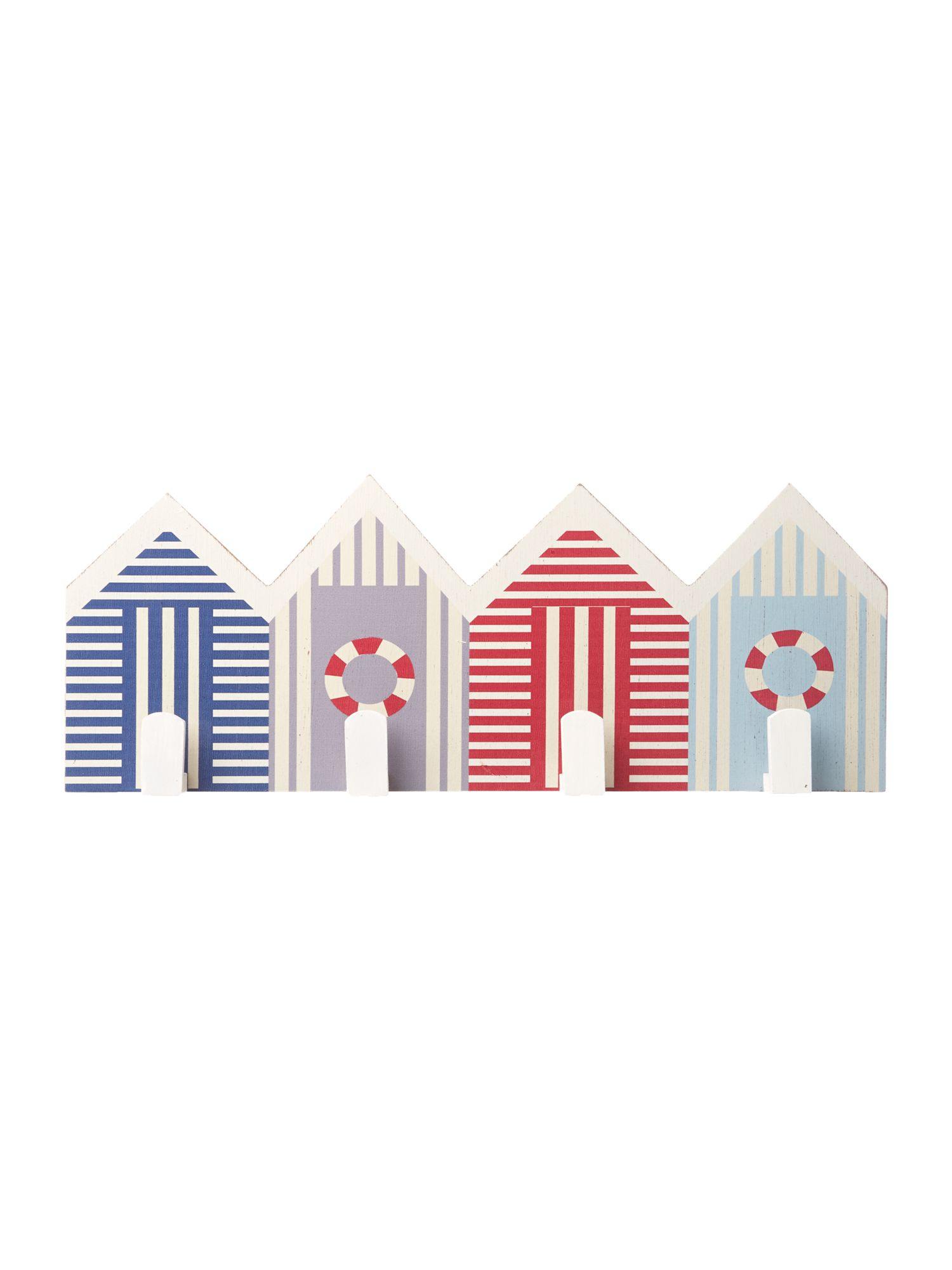 Beach hut hanging hooks