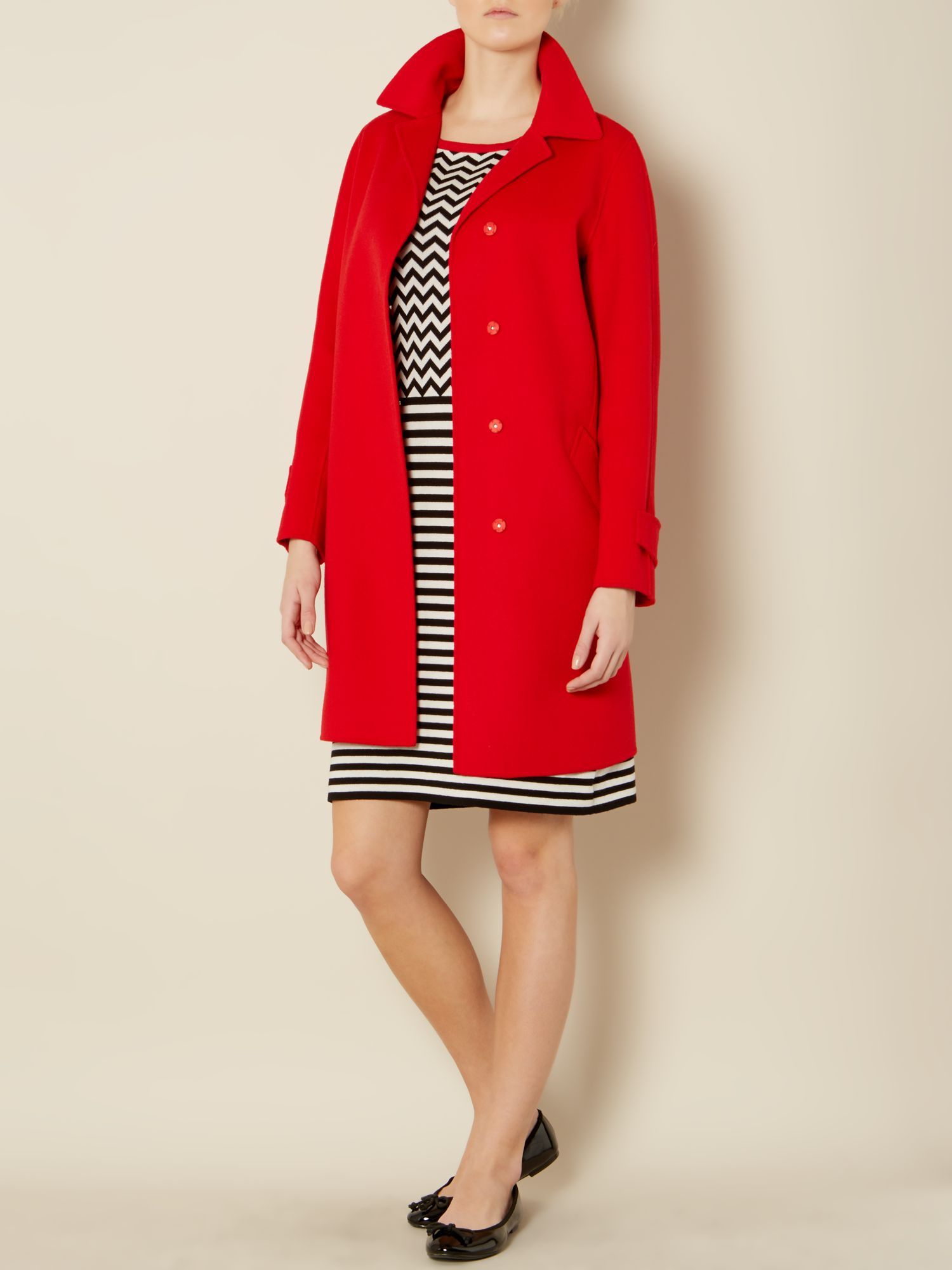Artu double faced wool coat