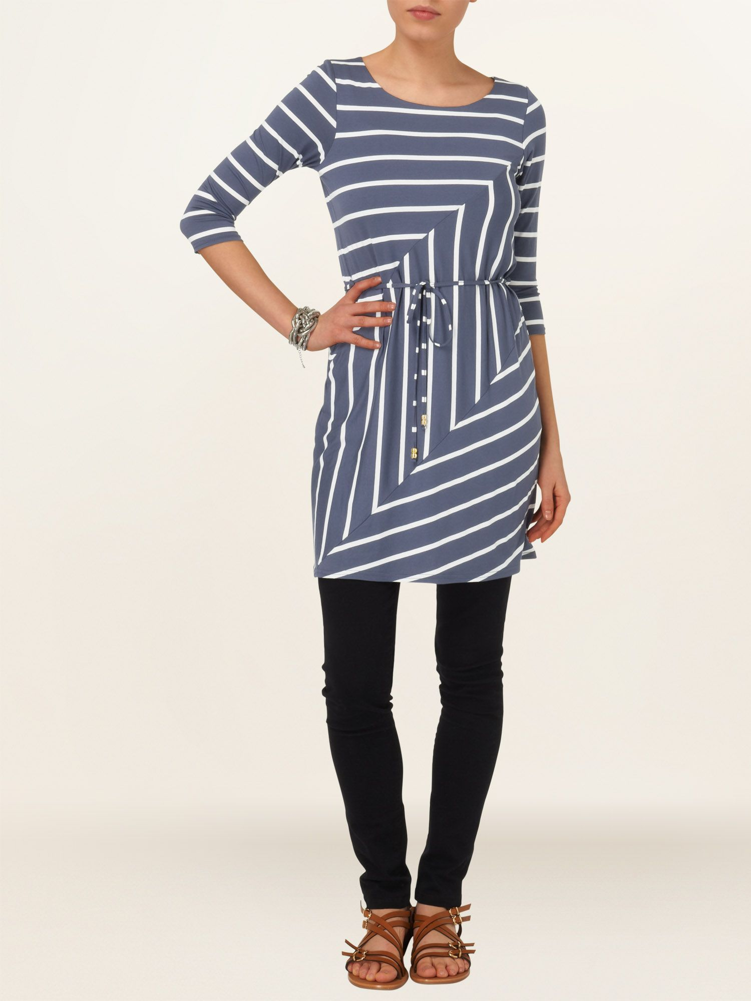 Chevron cindy tunic