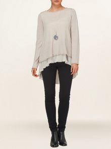 Phillipa pleat jumper