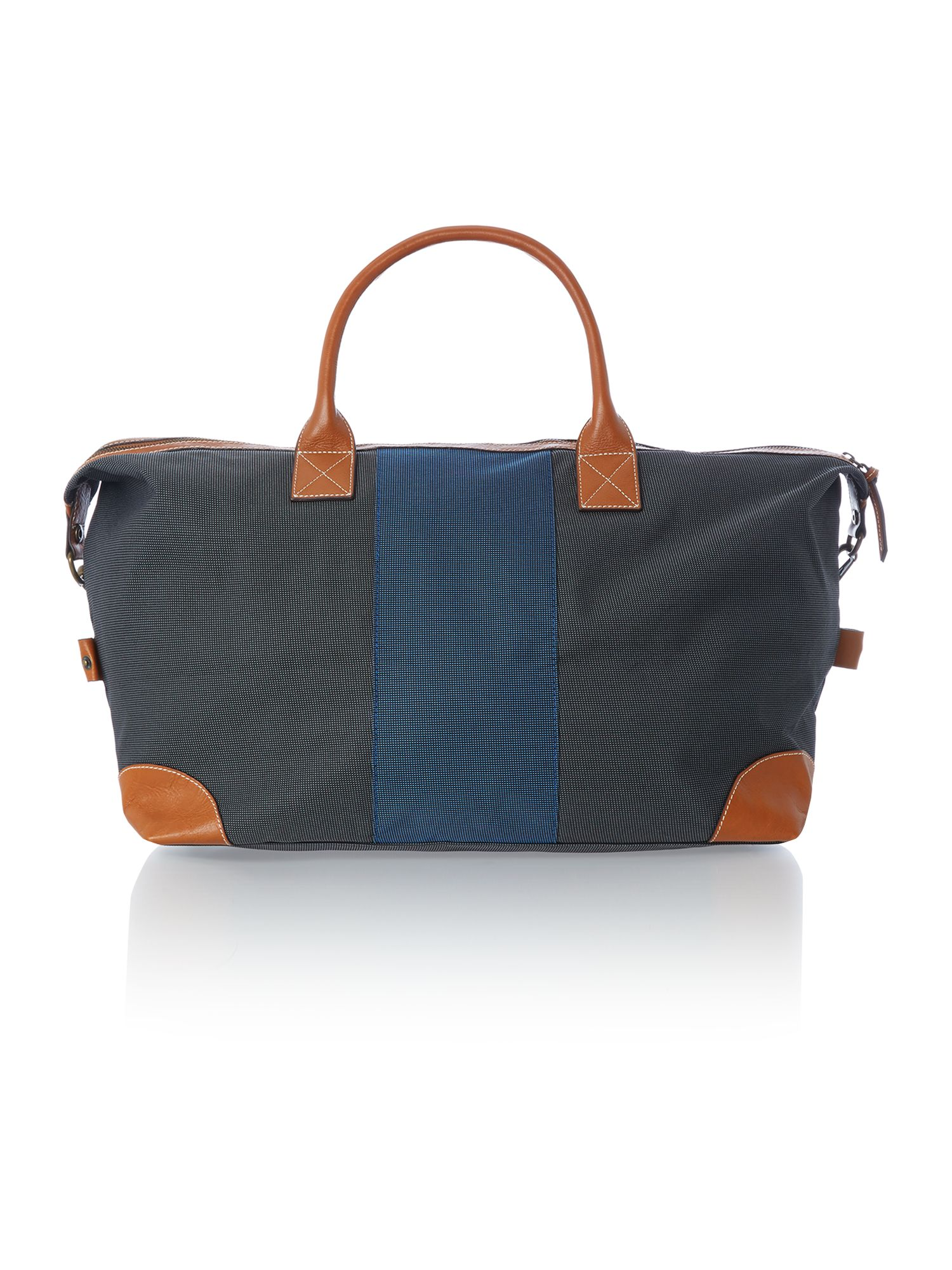 Nylon middle strap holdall bag