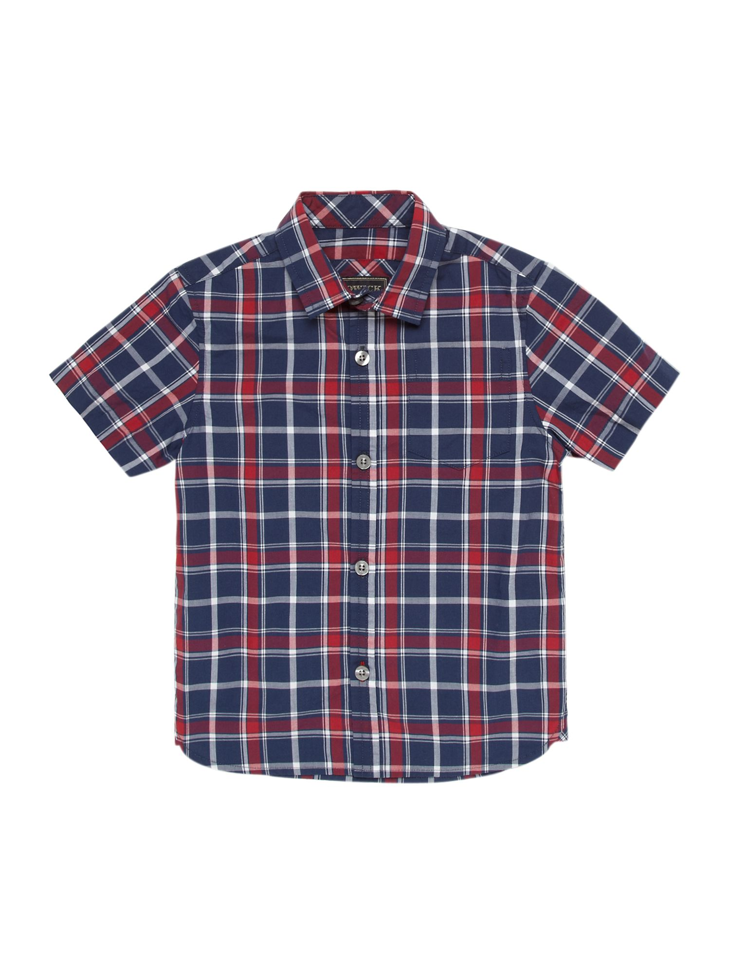 Boys large check shirt