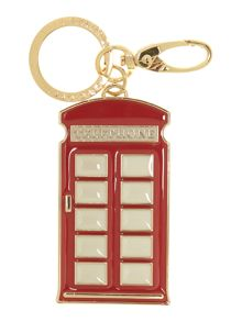 Red telephone box keyring