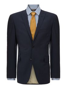 Borbero ticket pocket multistripe suit jacket