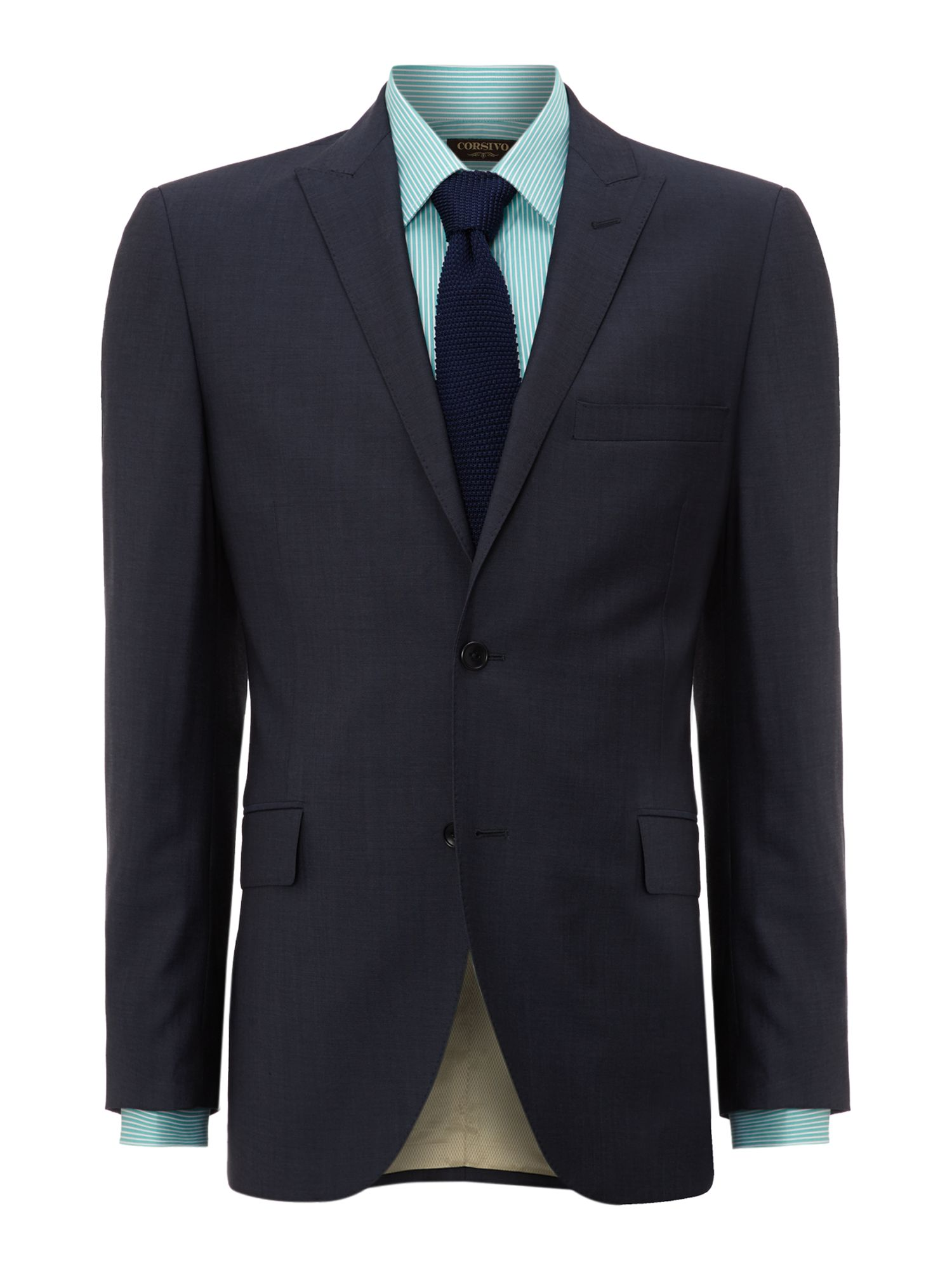 Chisone end on end suit jacket