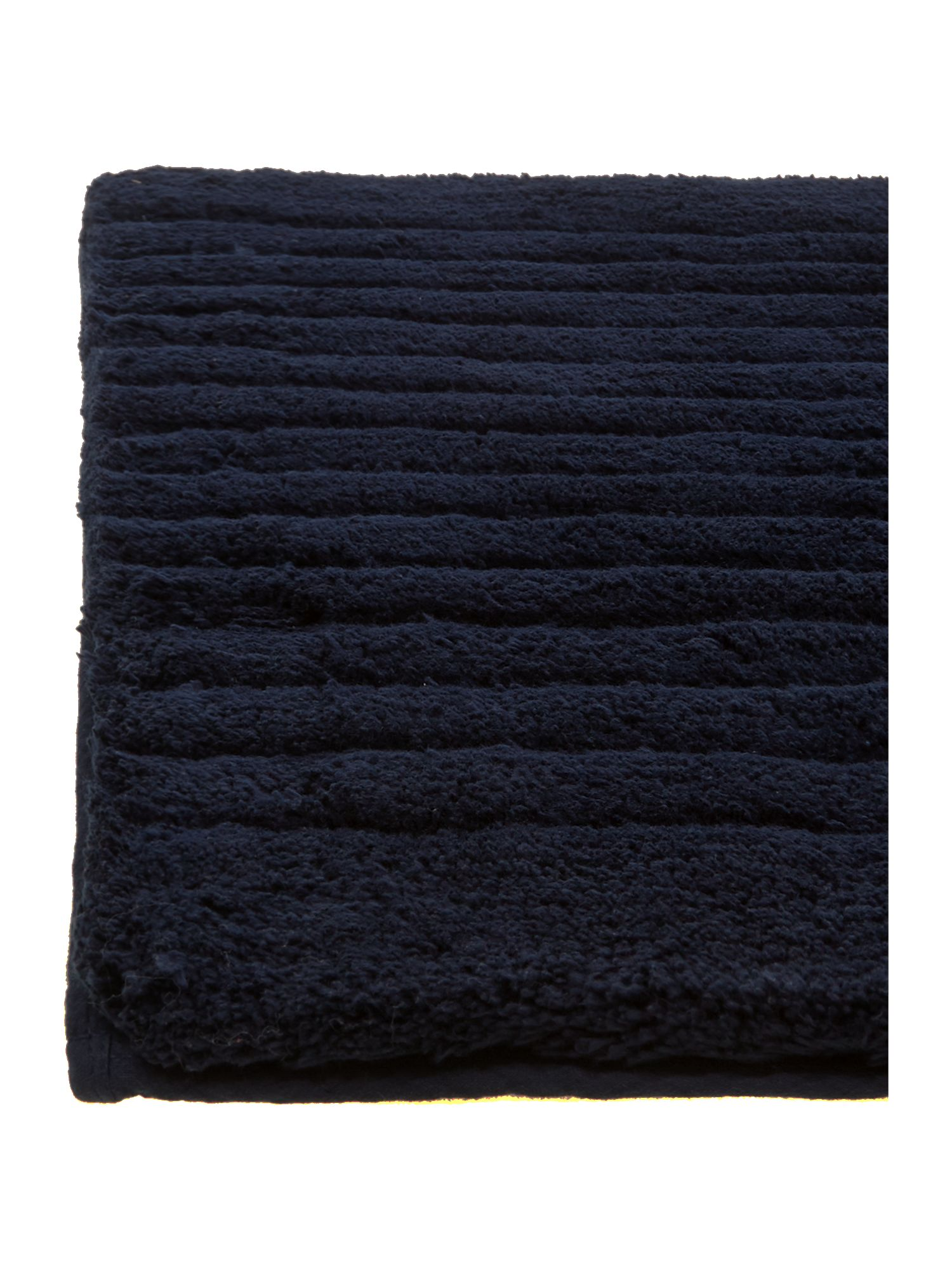 Classic luxury bathmat midnight
