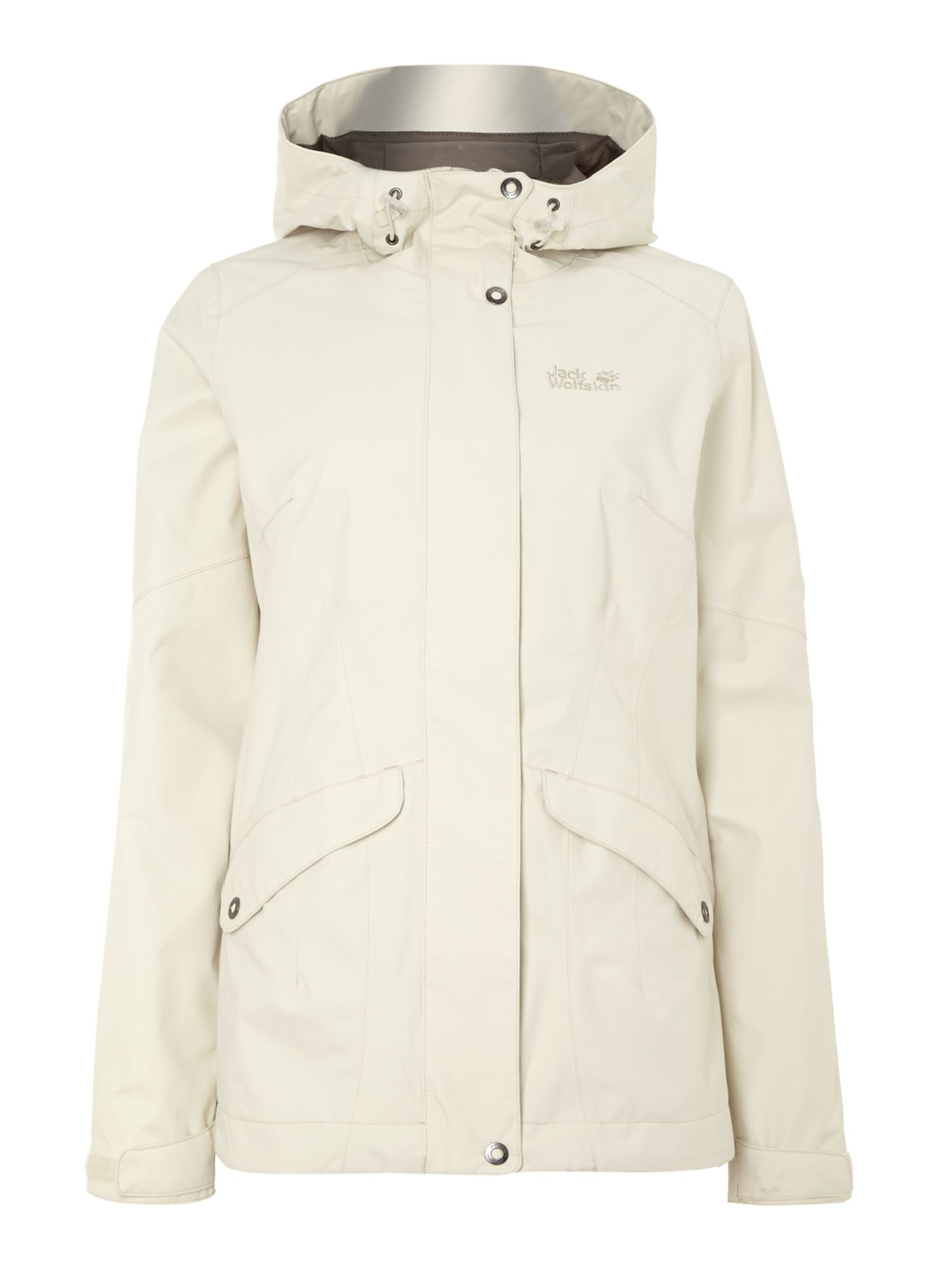 Connemara two pocket hooded jacket