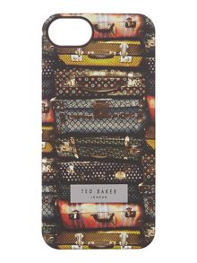 All over suitcase print iphone cover