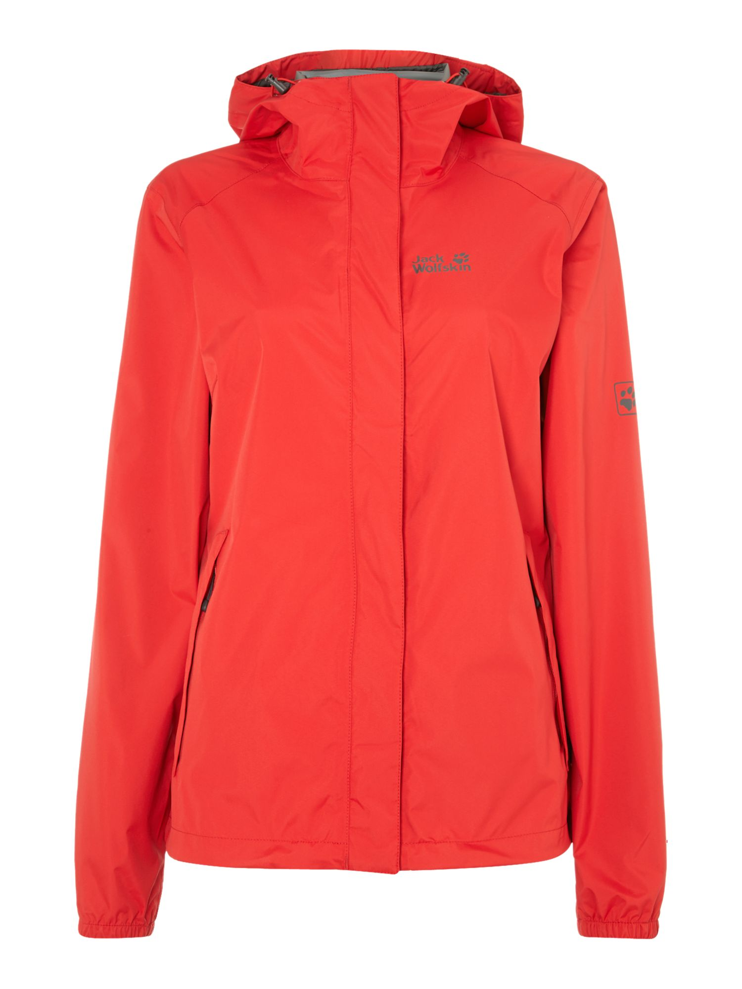 Cloudburst pack away jacket with hood