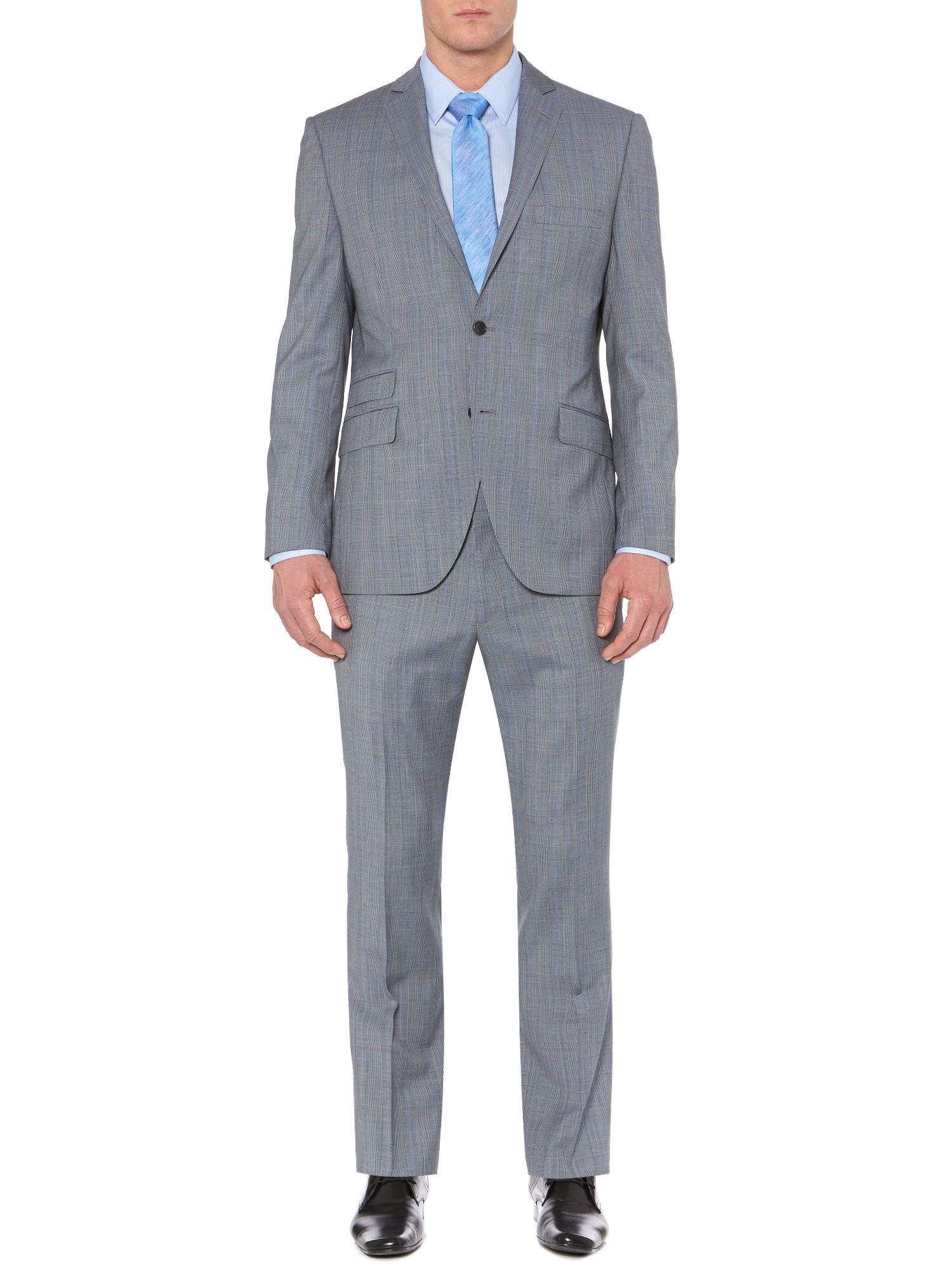 Bremba Prince of Wales check suit jacket