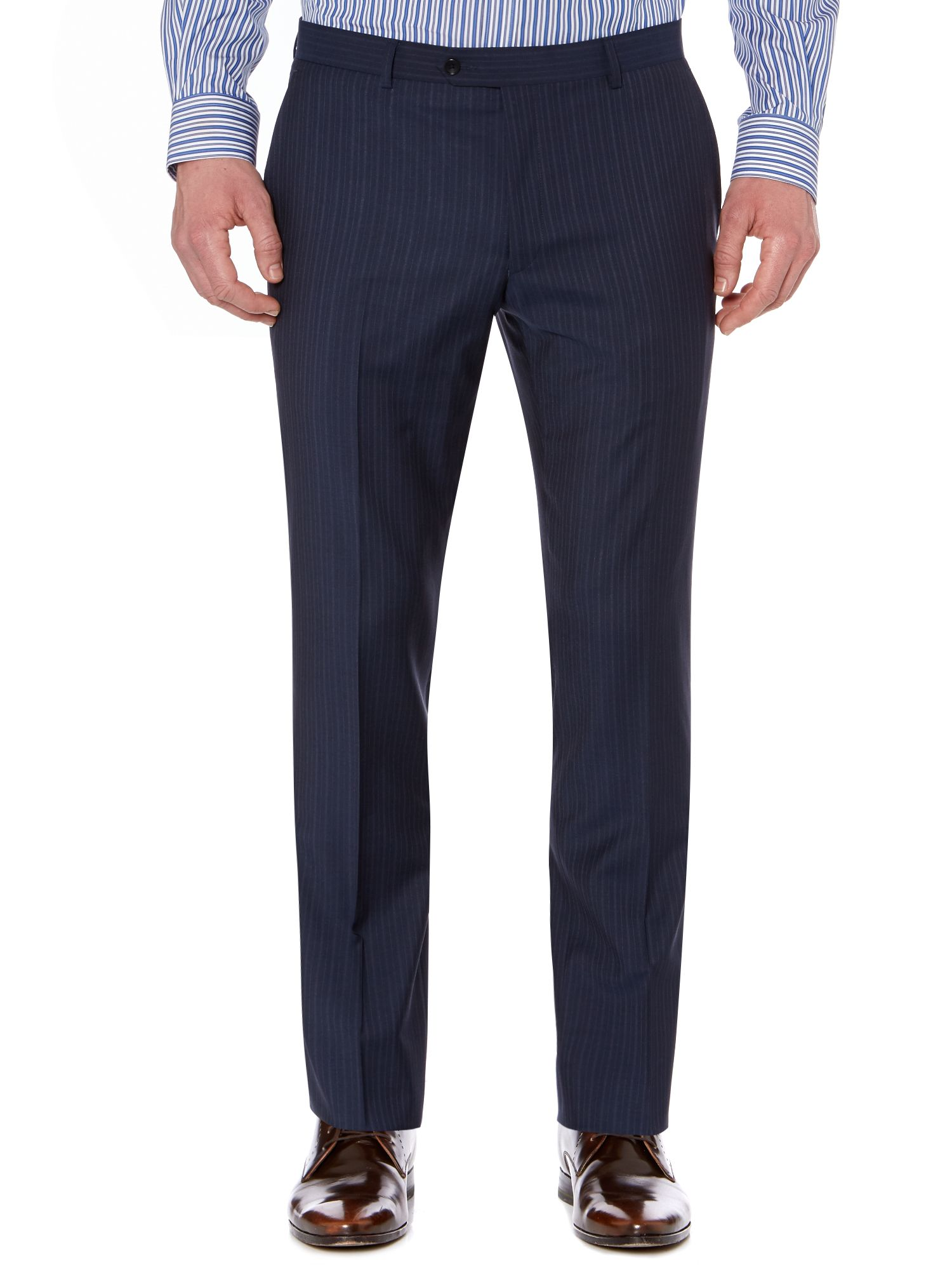 Borbero multistripe suit trousers