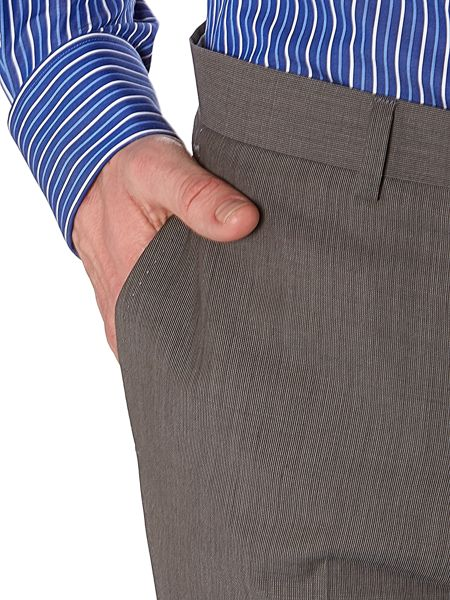 Malone end on end suit trousers