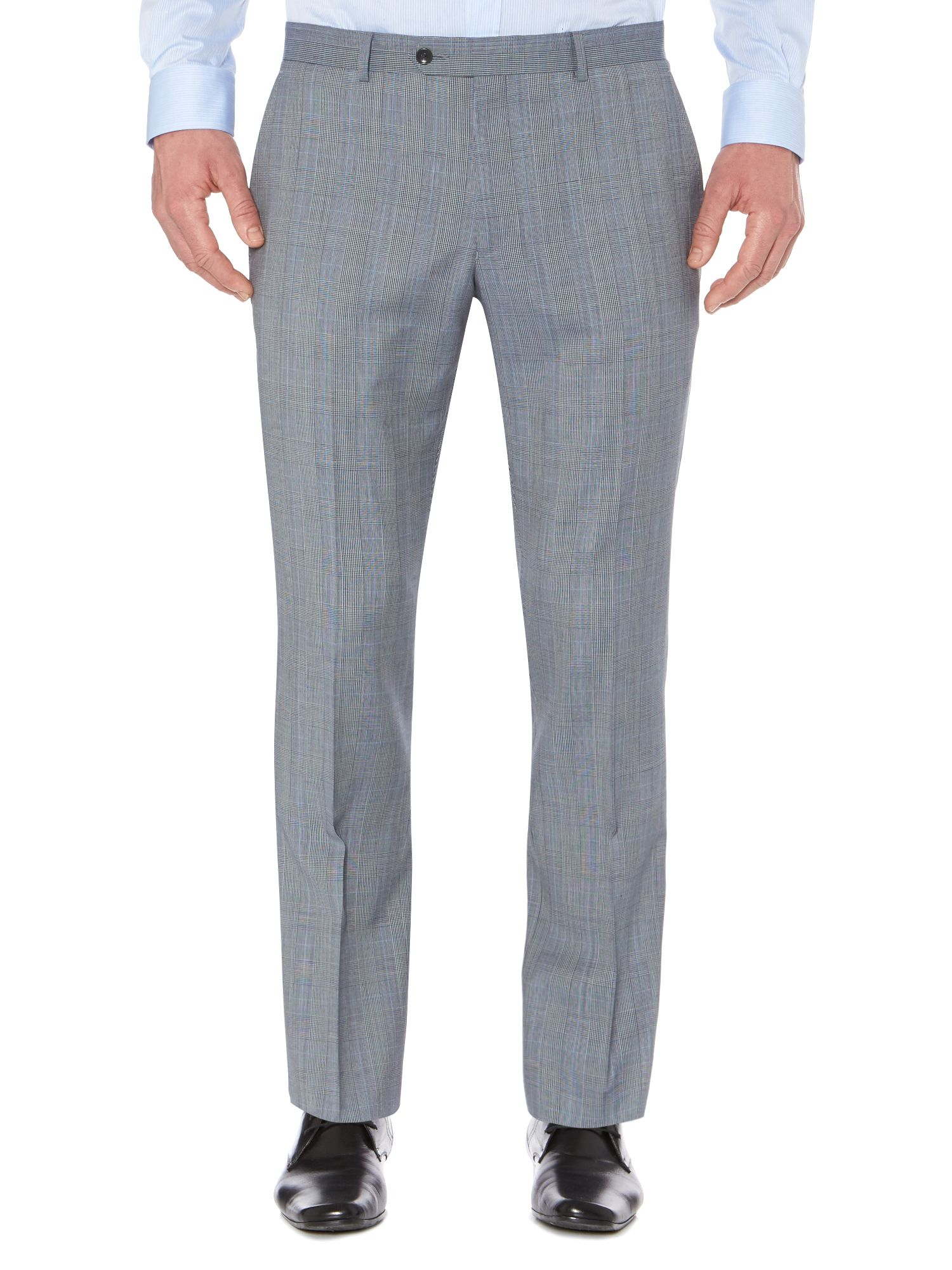 Bremba Prince of Wales check suit trousers