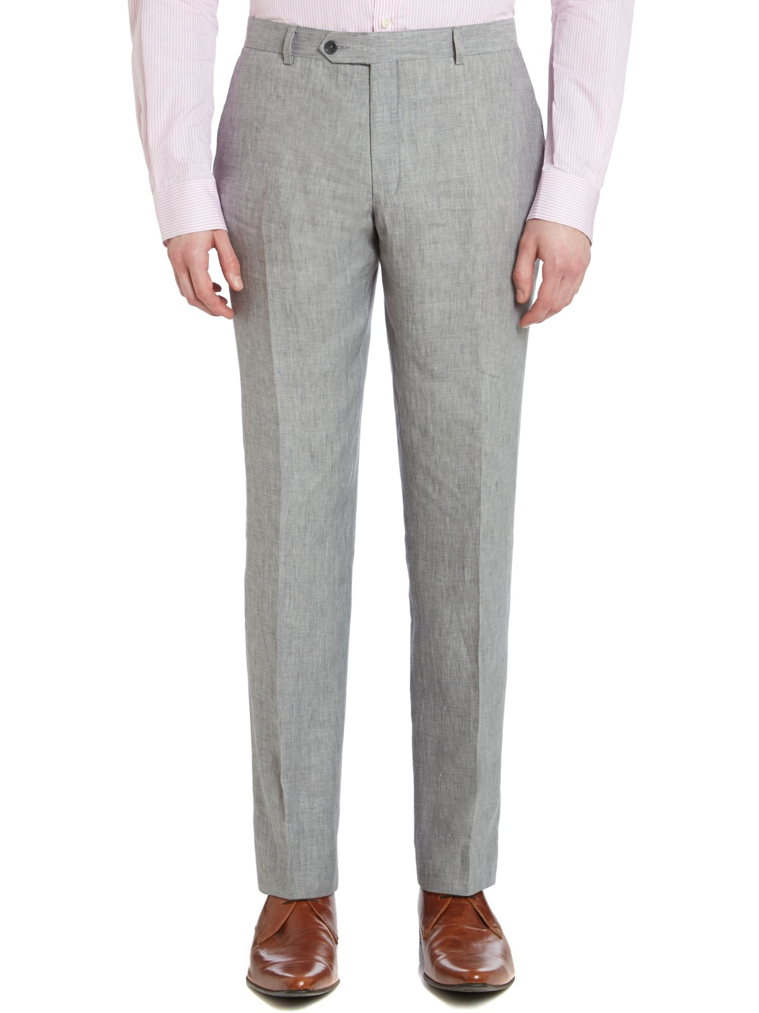 Lyon linen suit trousers
