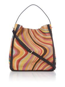 Multi-coloured crossbody bag