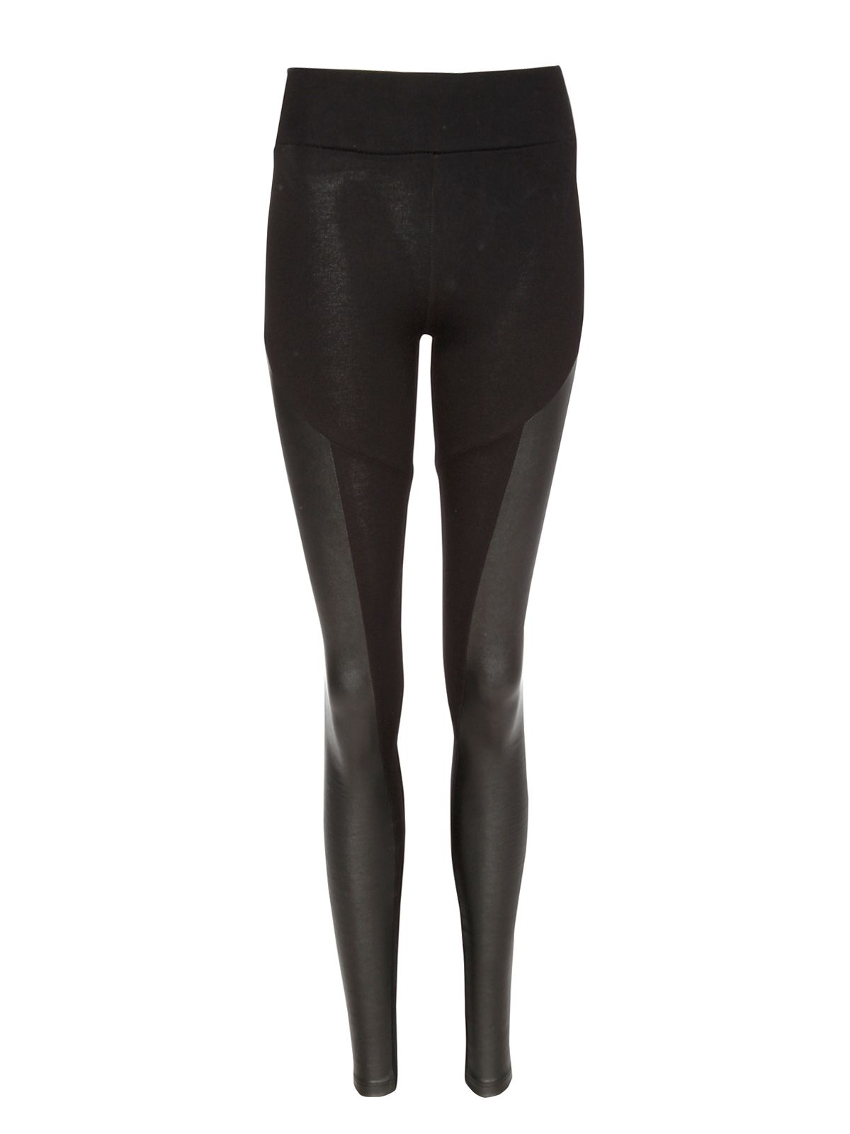 PU side panel leggings