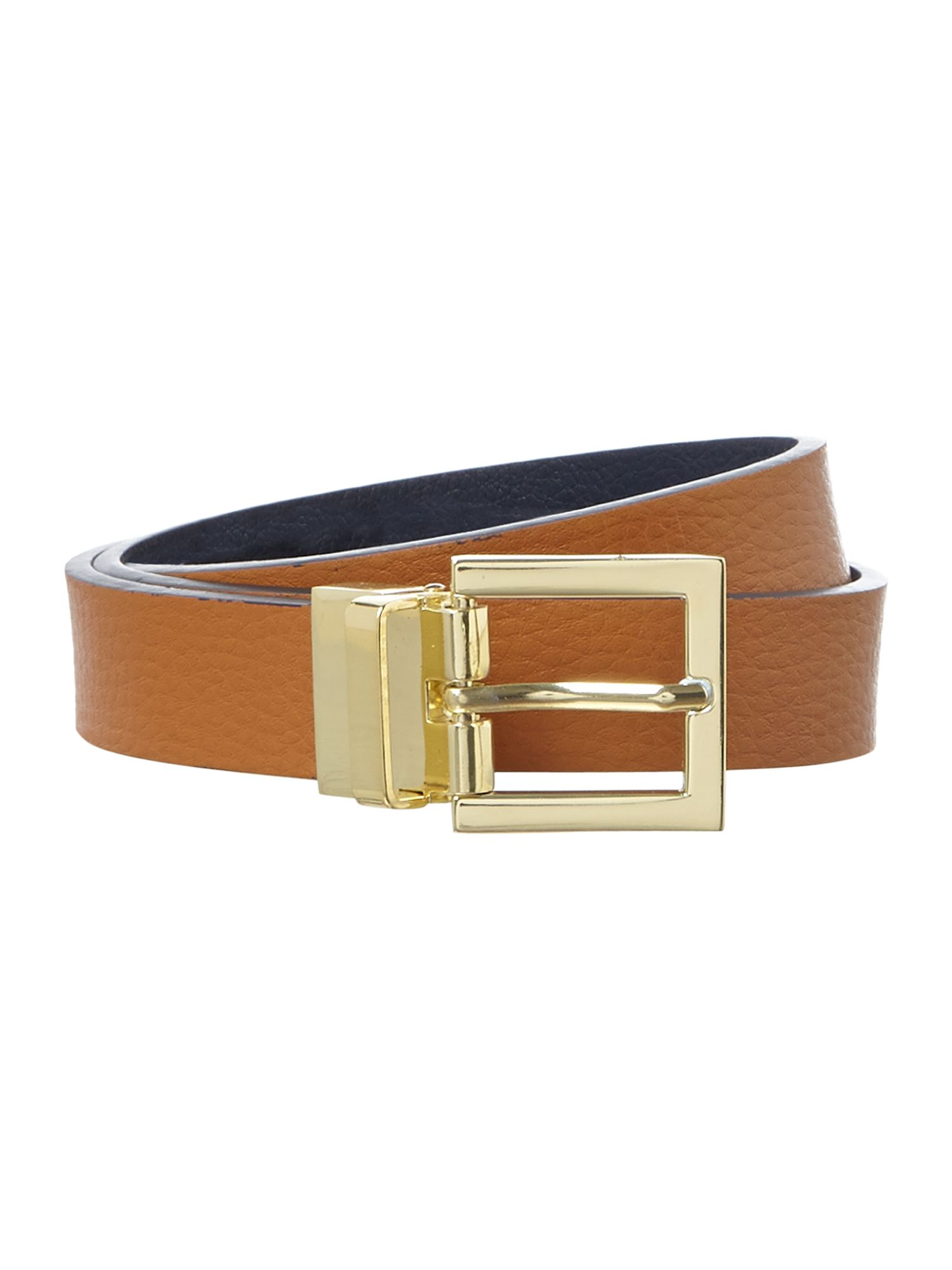 Reversible trouser belt