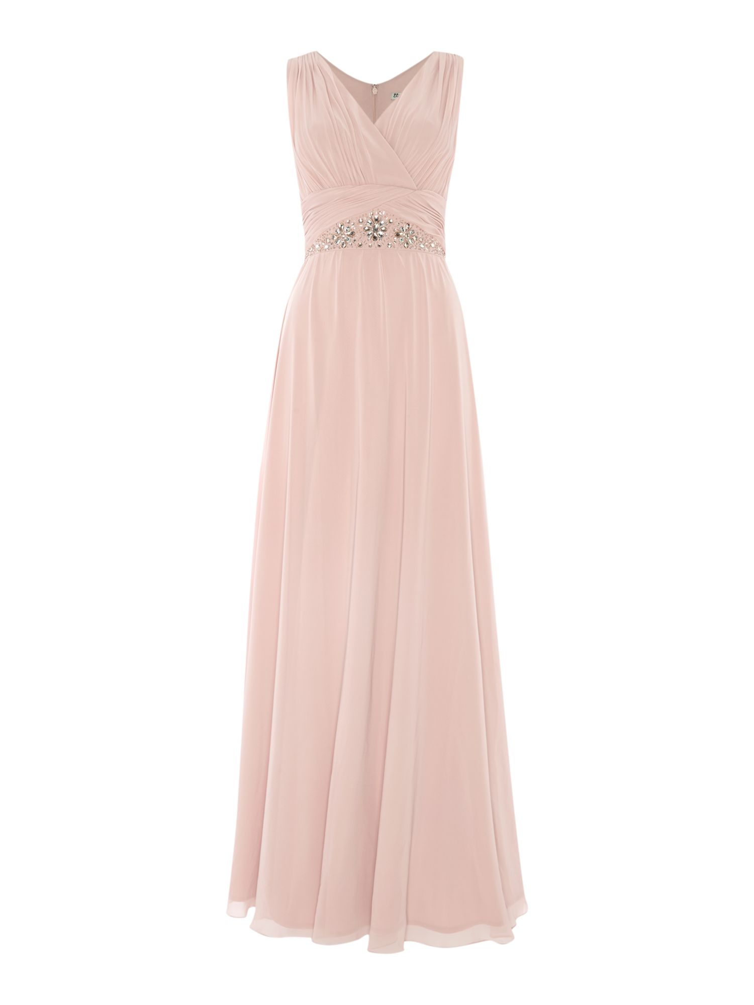 Bridesmaid Jewel Waist Gown