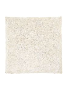 Biba Ivory beaded cushion