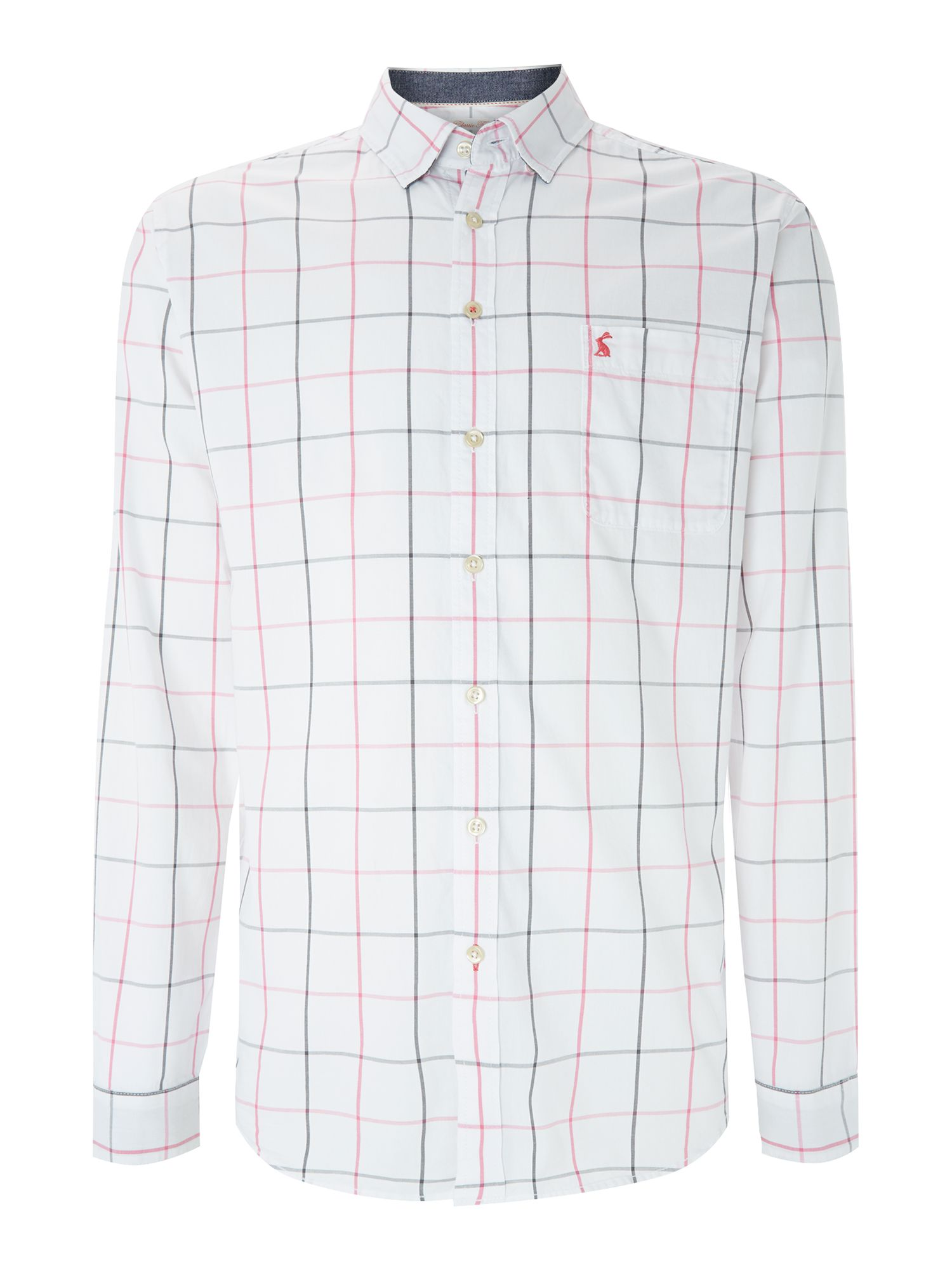 Welford check long sleeve shirt