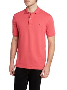 Classic contrast collar polo shirt