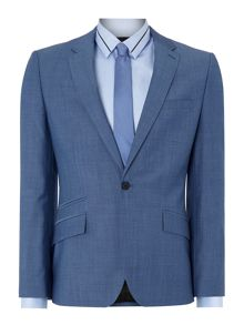 Bladon Slim Fit Jet Ticket Pocket Suit Jacket