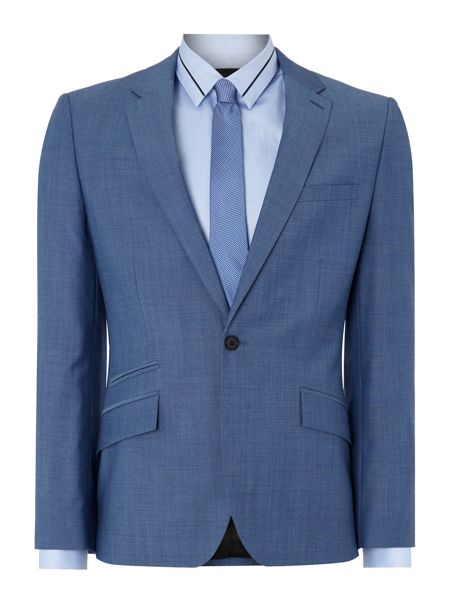 Kenneth Cole Bladon Slim Fit Jet Ticket Pocket Suit Jacket