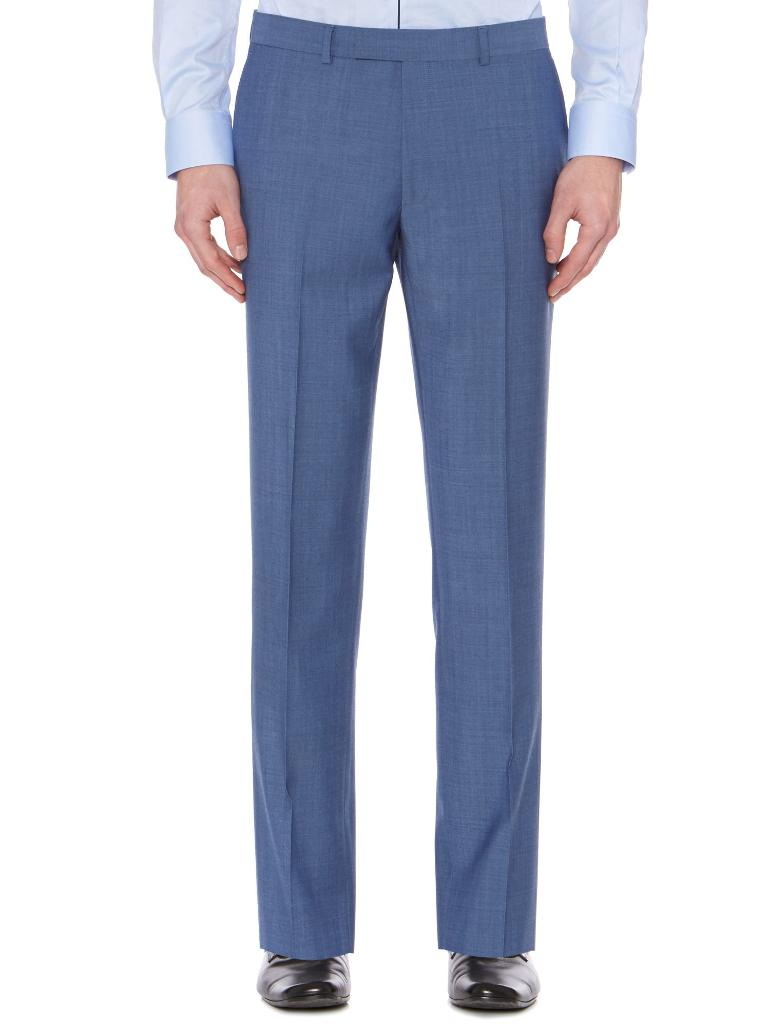 Bladon Slim Flat Front Suit Trousers