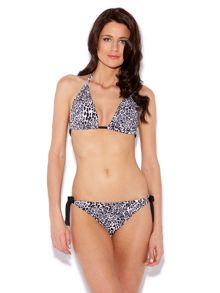 Athena cheetah print tie side brief