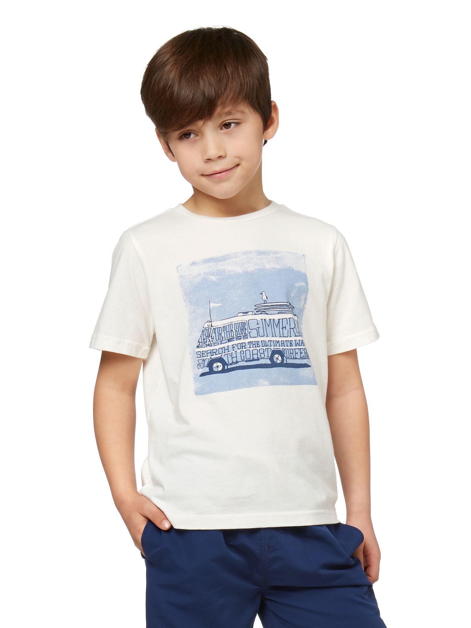 Boys camper graphic t-shirt