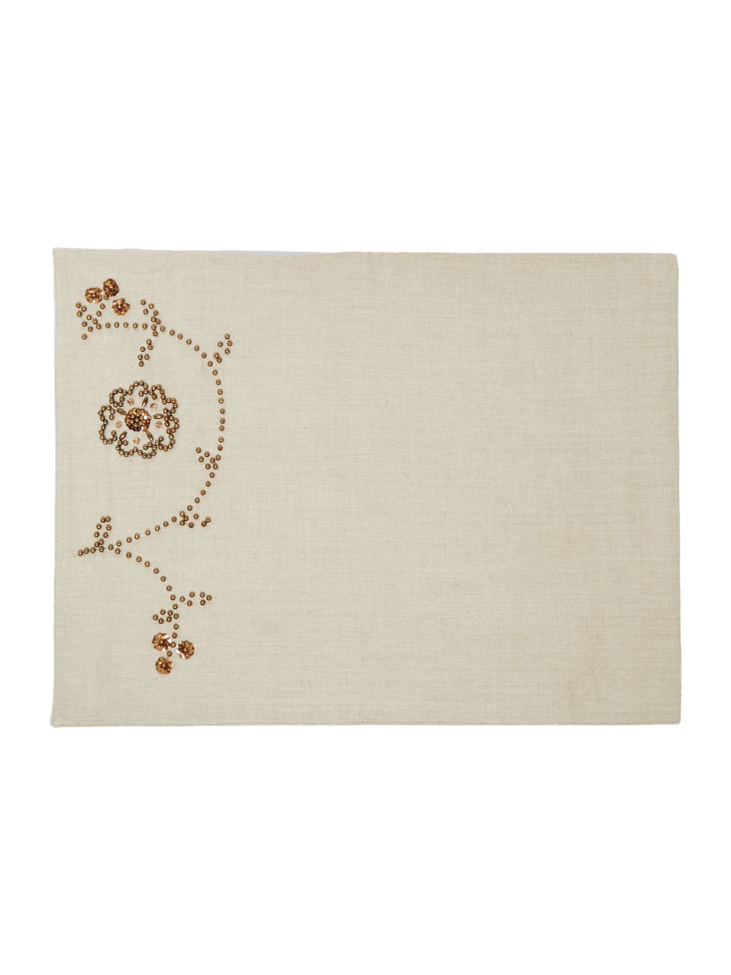 Serenity beaded placemats set of 2