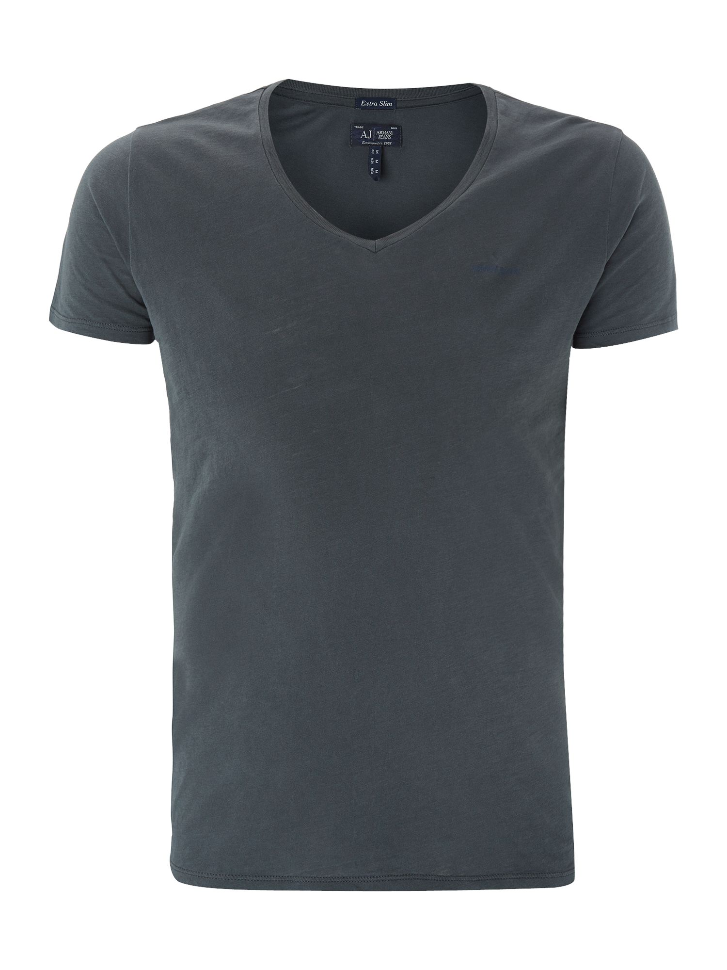 V neck logo t-shirt