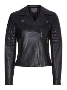 Sannita leather biker