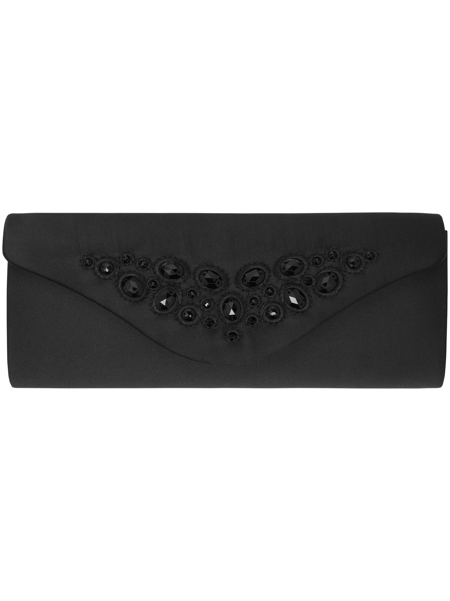Cara jewelled clutch bag