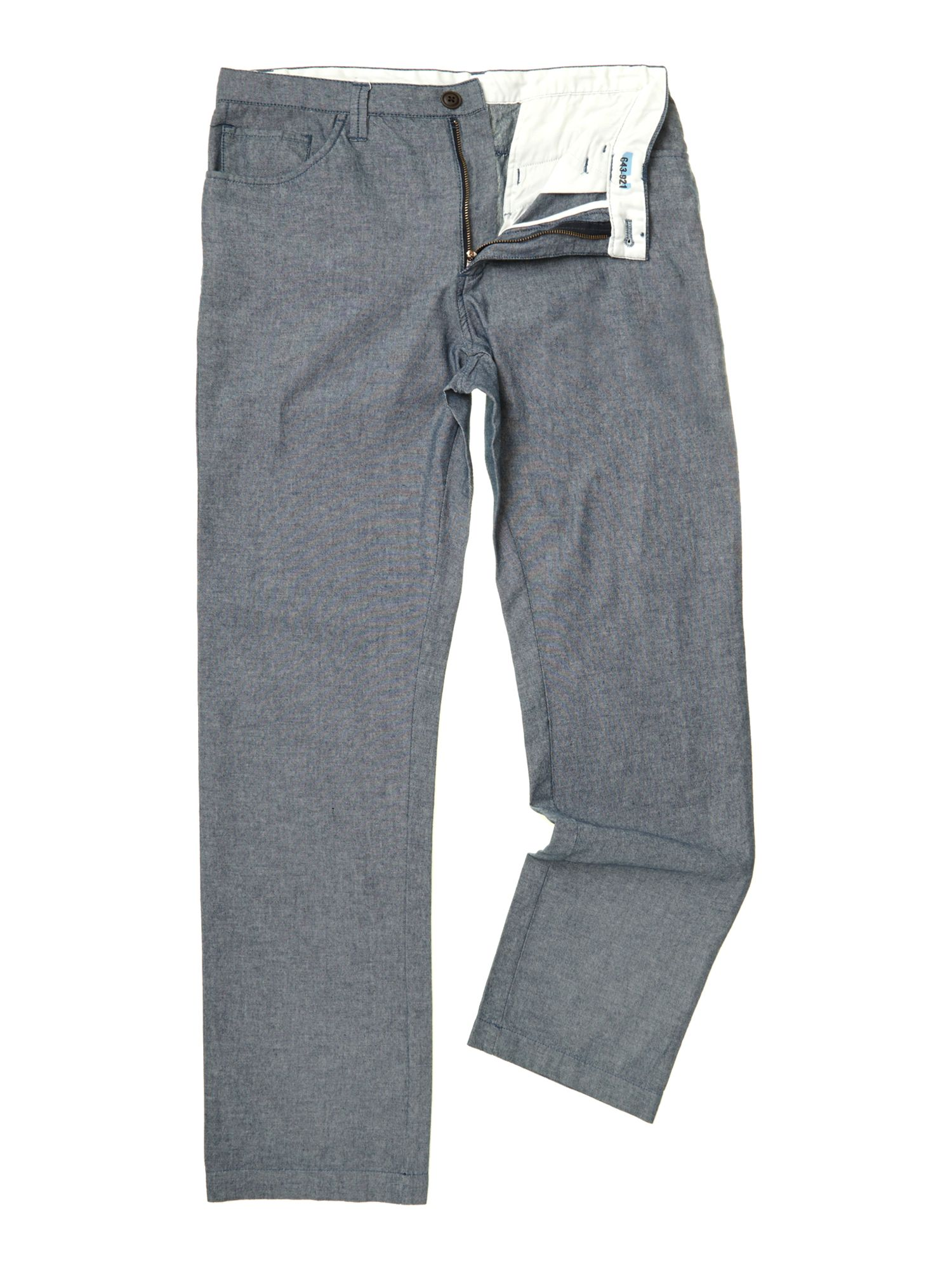 edsel chambray trousers