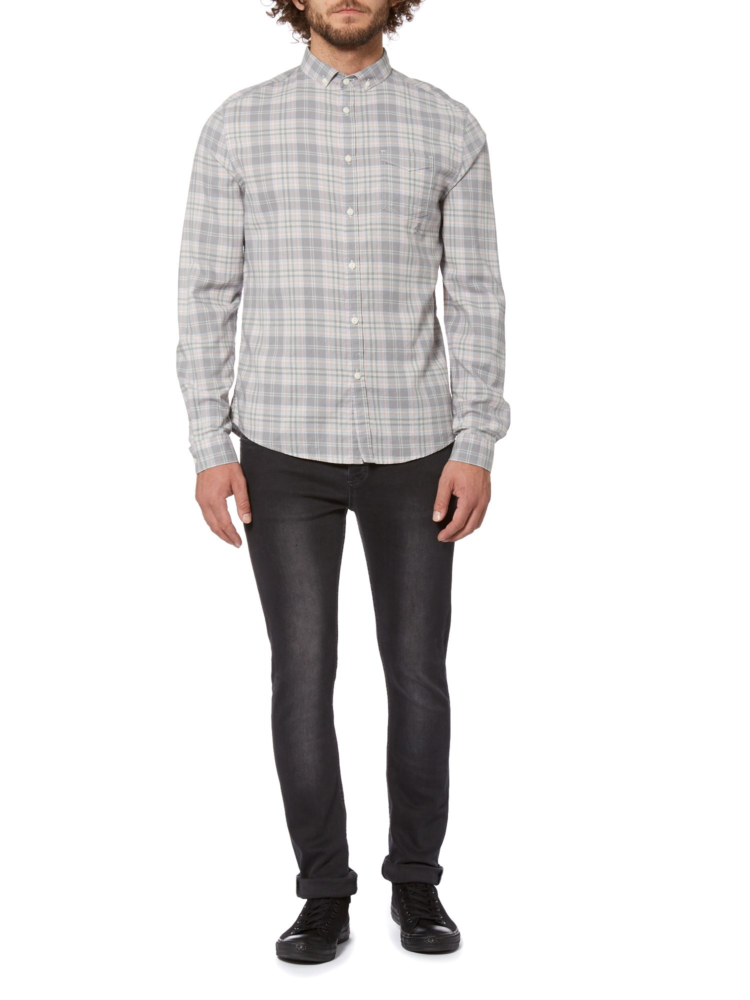 Crosby long sleeve check shirt