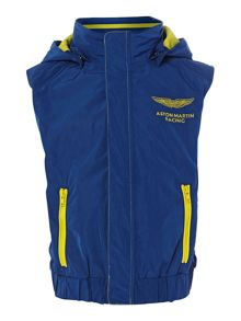 Boy`s Aston Martin hooded gilet