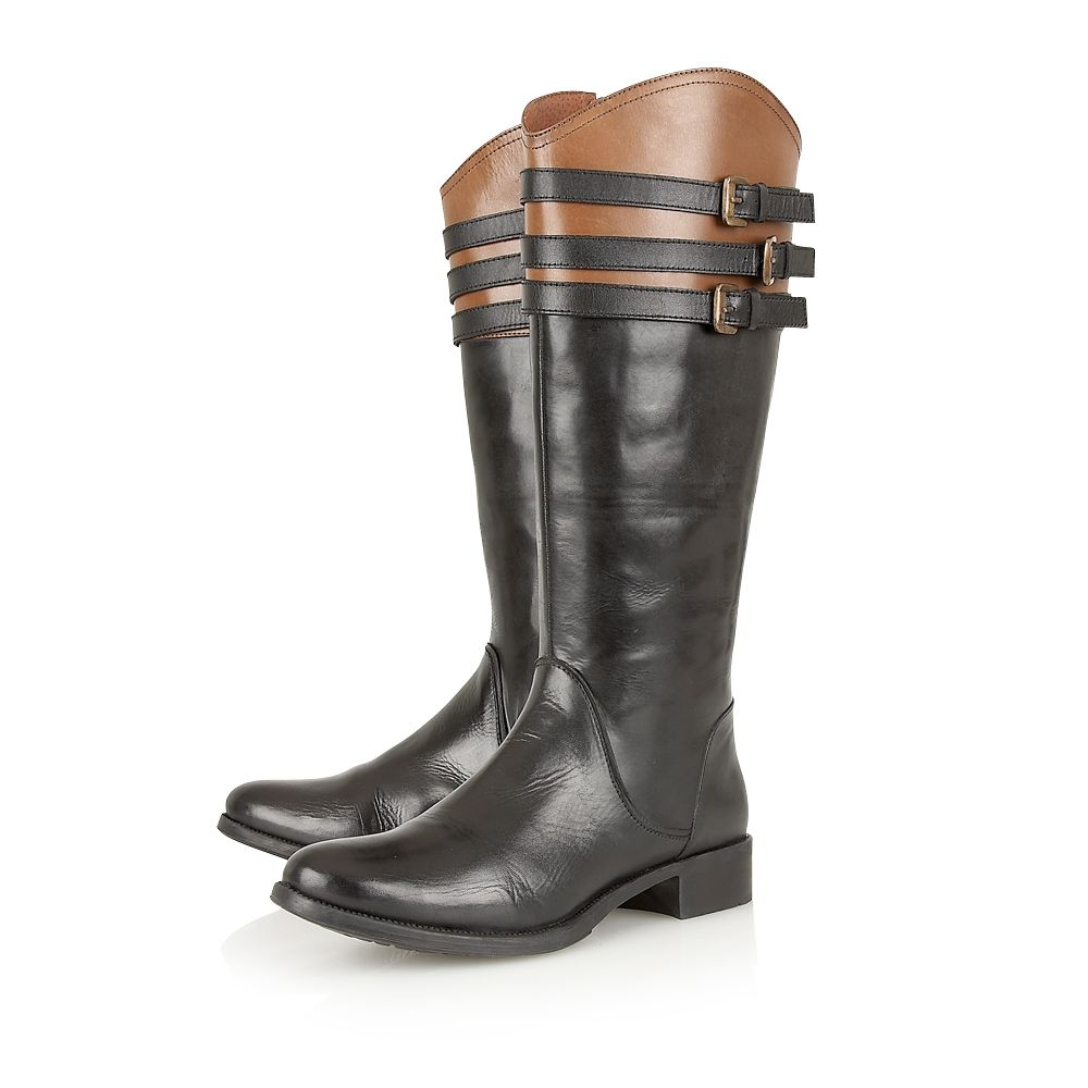 Mandarin ladies boots